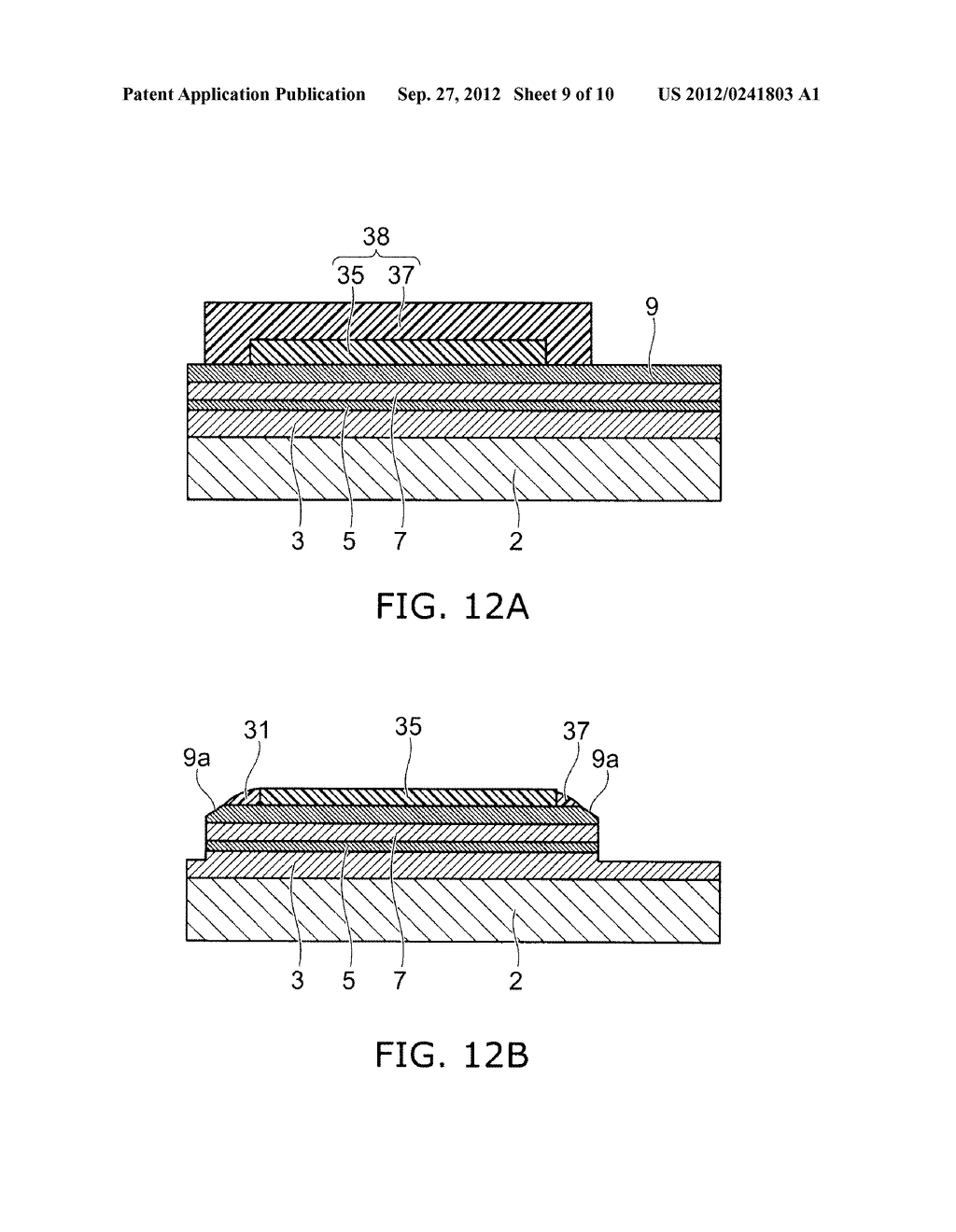 SEMICONDUCTOR LIGHT EMITTING DEVICE AND METHOD FOR MANUFACTURING SAME - diagram, schematic, and image 10