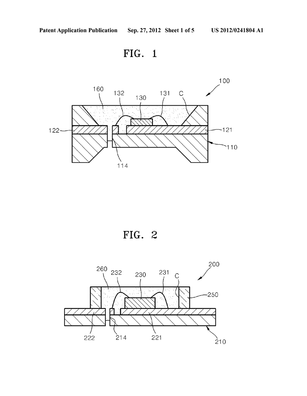 LIGHT-EMITTING DEVICE PACKAGE AND METHOD OF MANUFACTURING THE SAME - diagram, schematic, and image 02