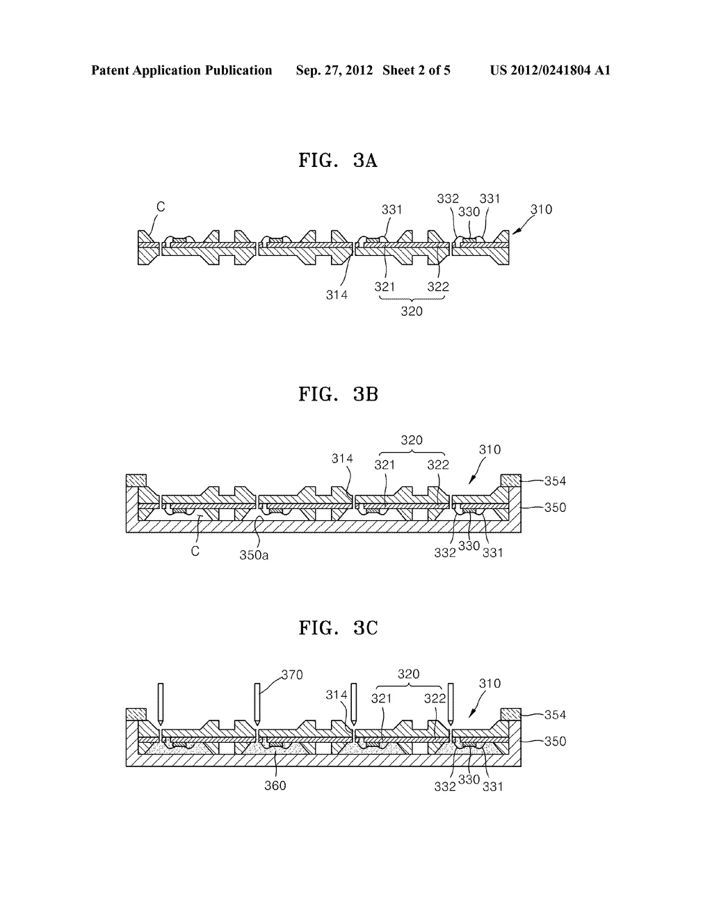 LIGHT-EMITTING DEVICE PACKAGE AND METHOD OF MANUFACTURING THE SAME - diagram, schematic, and image 03