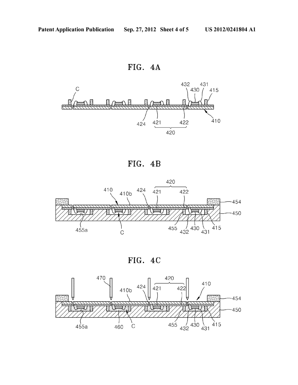 LIGHT-EMITTING DEVICE PACKAGE AND METHOD OF MANUFACTURING THE SAME - diagram, schematic, and image 05