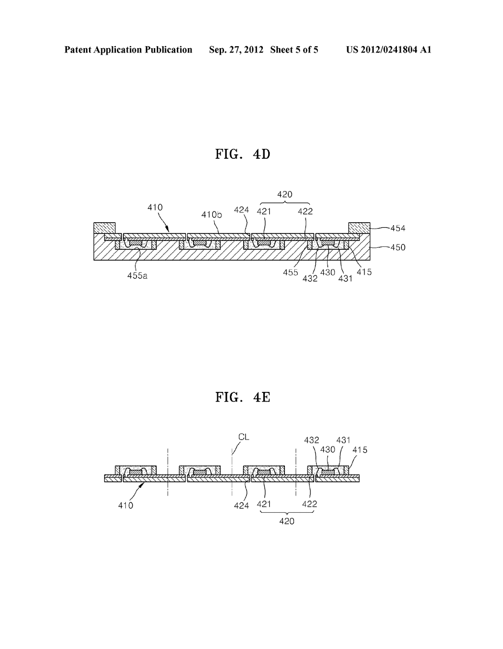 LIGHT-EMITTING DEVICE PACKAGE AND METHOD OF MANUFACTURING THE SAME - diagram, schematic, and image 06