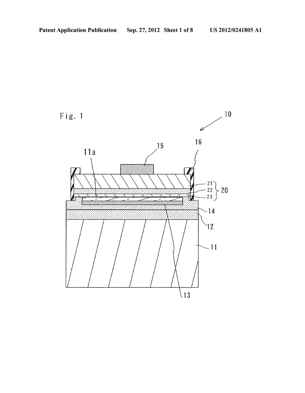 SEMICONDUCTOR LIGHT EMITTING ELEMENT AND MANUFACTURING METHOD THEREOF - diagram, schematic, and image 02