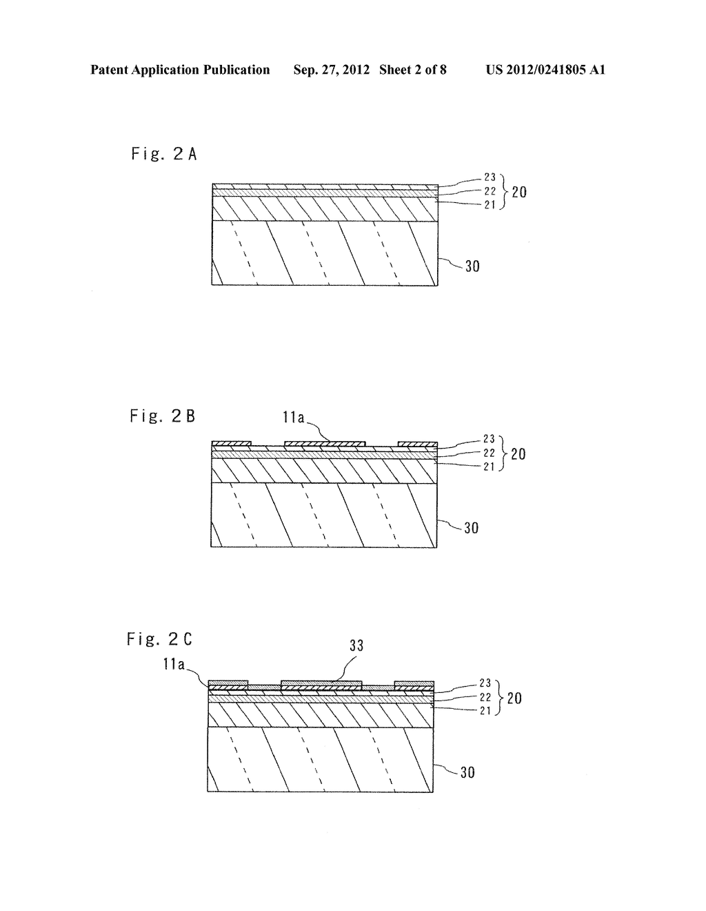 SEMICONDUCTOR LIGHT EMITTING ELEMENT AND MANUFACTURING METHOD THEREOF - diagram, schematic, and image 03