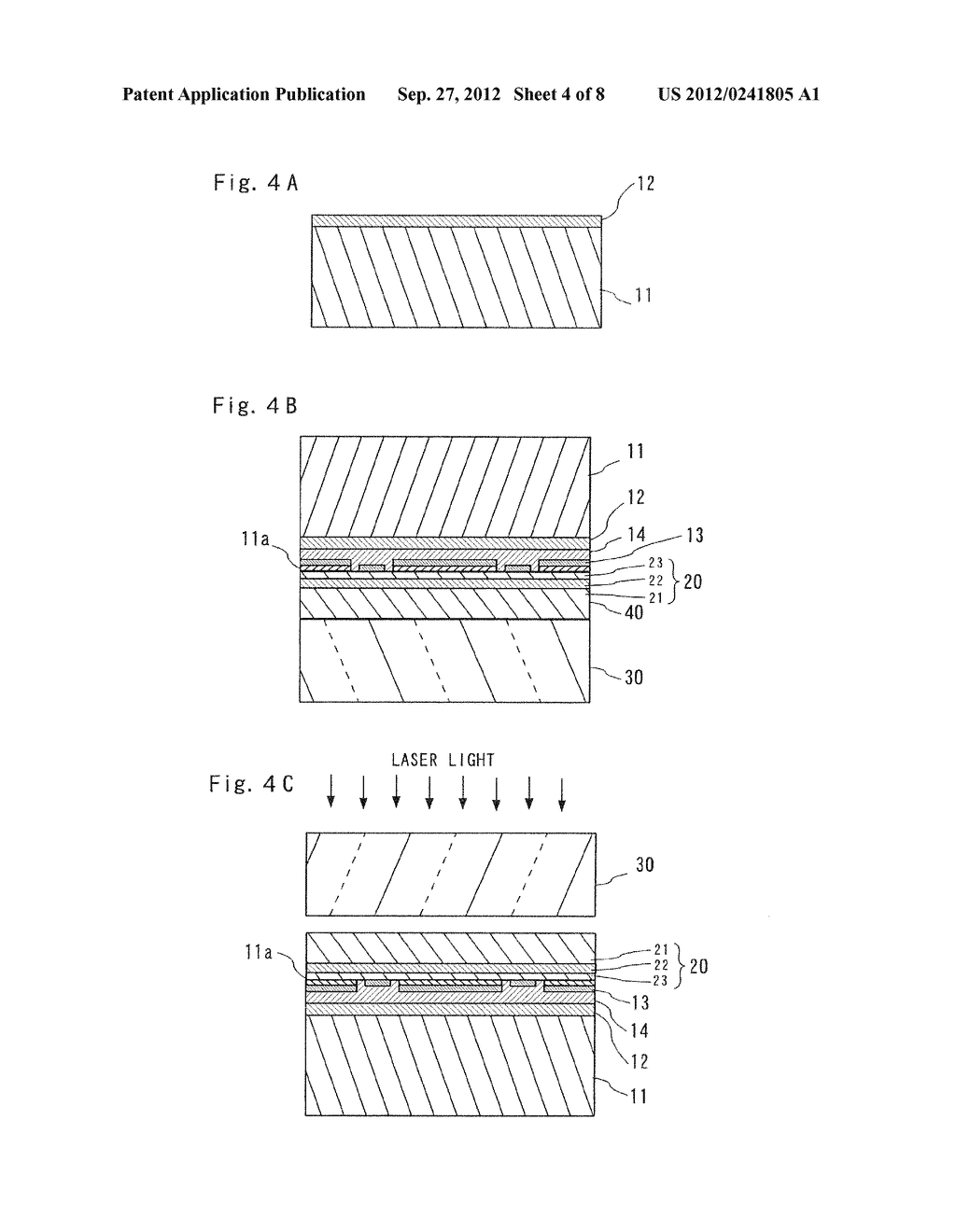 SEMICONDUCTOR LIGHT EMITTING ELEMENT AND MANUFACTURING METHOD THEREOF - diagram, schematic, and image 05