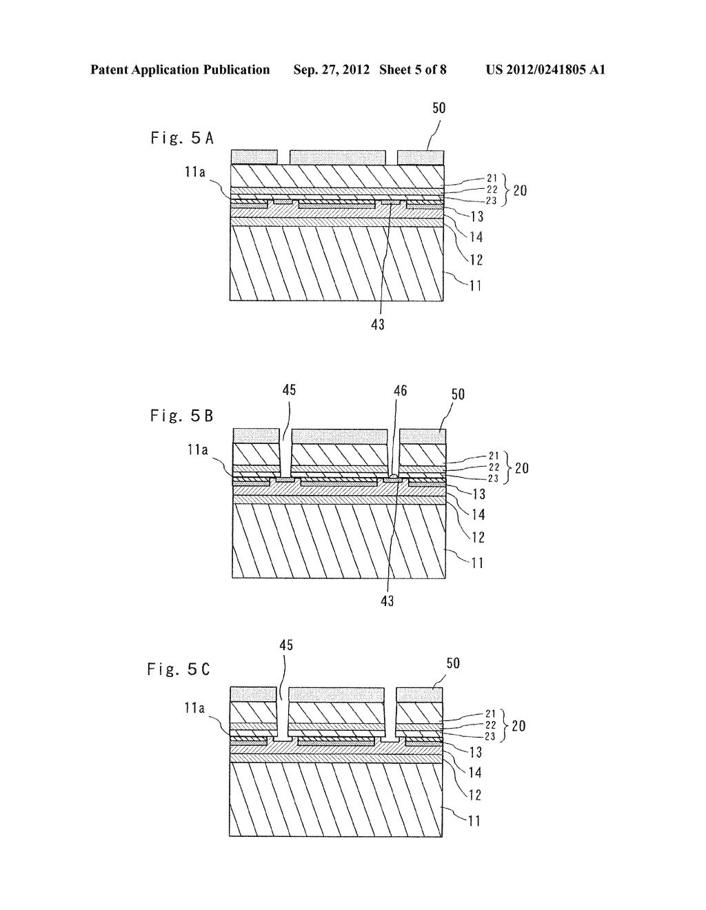 SEMICONDUCTOR LIGHT EMITTING ELEMENT AND MANUFACTURING METHOD THEREOF - diagram, schematic, and image 06