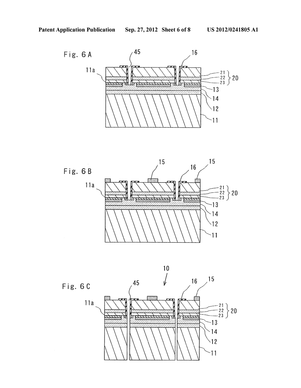SEMICONDUCTOR LIGHT EMITTING ELEMENT AND MANUFACTURING METHOD THEREOF - diagram, schematic, and image 07