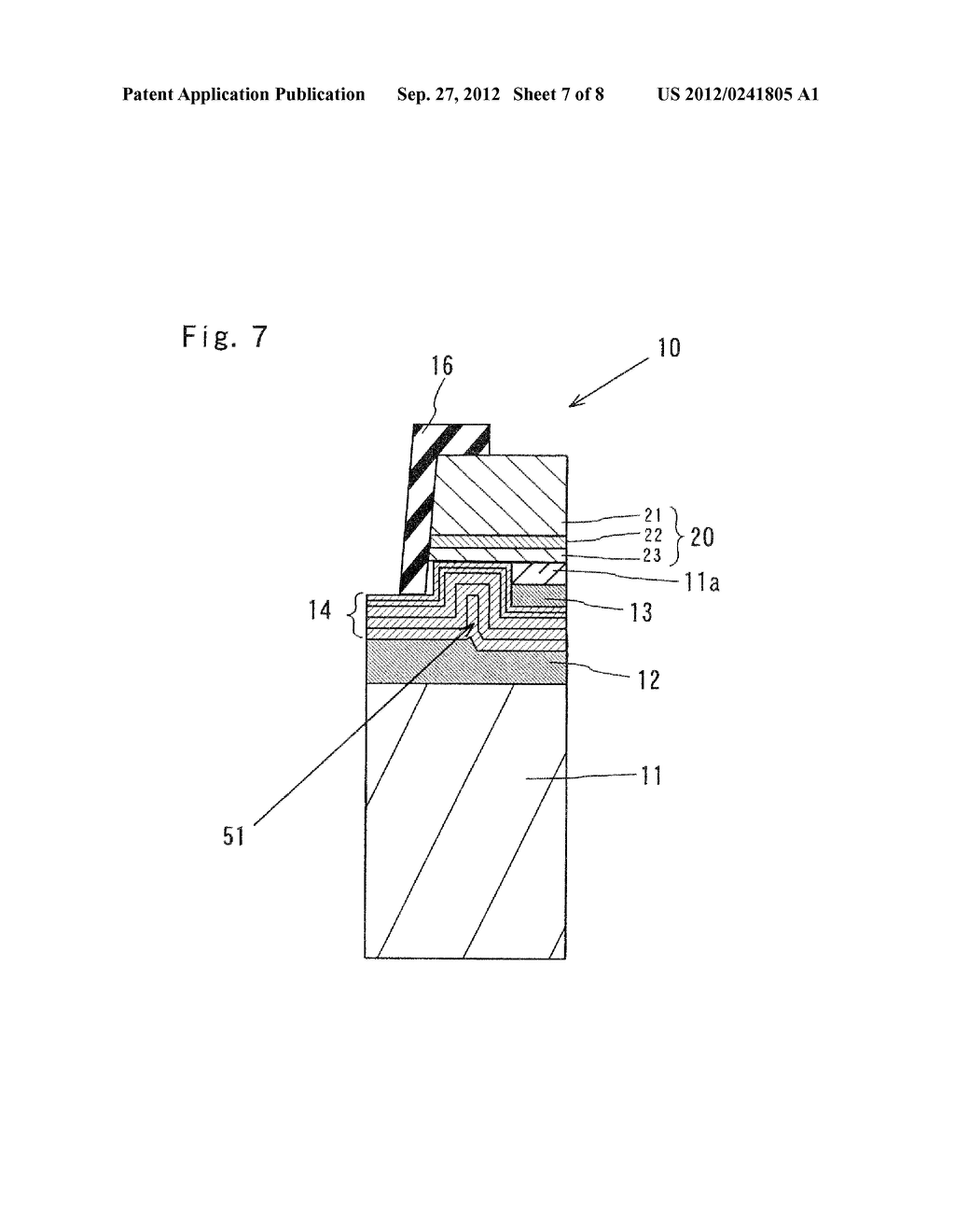 SEMICONDUCTOR LIGHT EMITTING ELEMENT AND MANUFACTURING METHOD THEREOF - diagram, schematic, and image 08