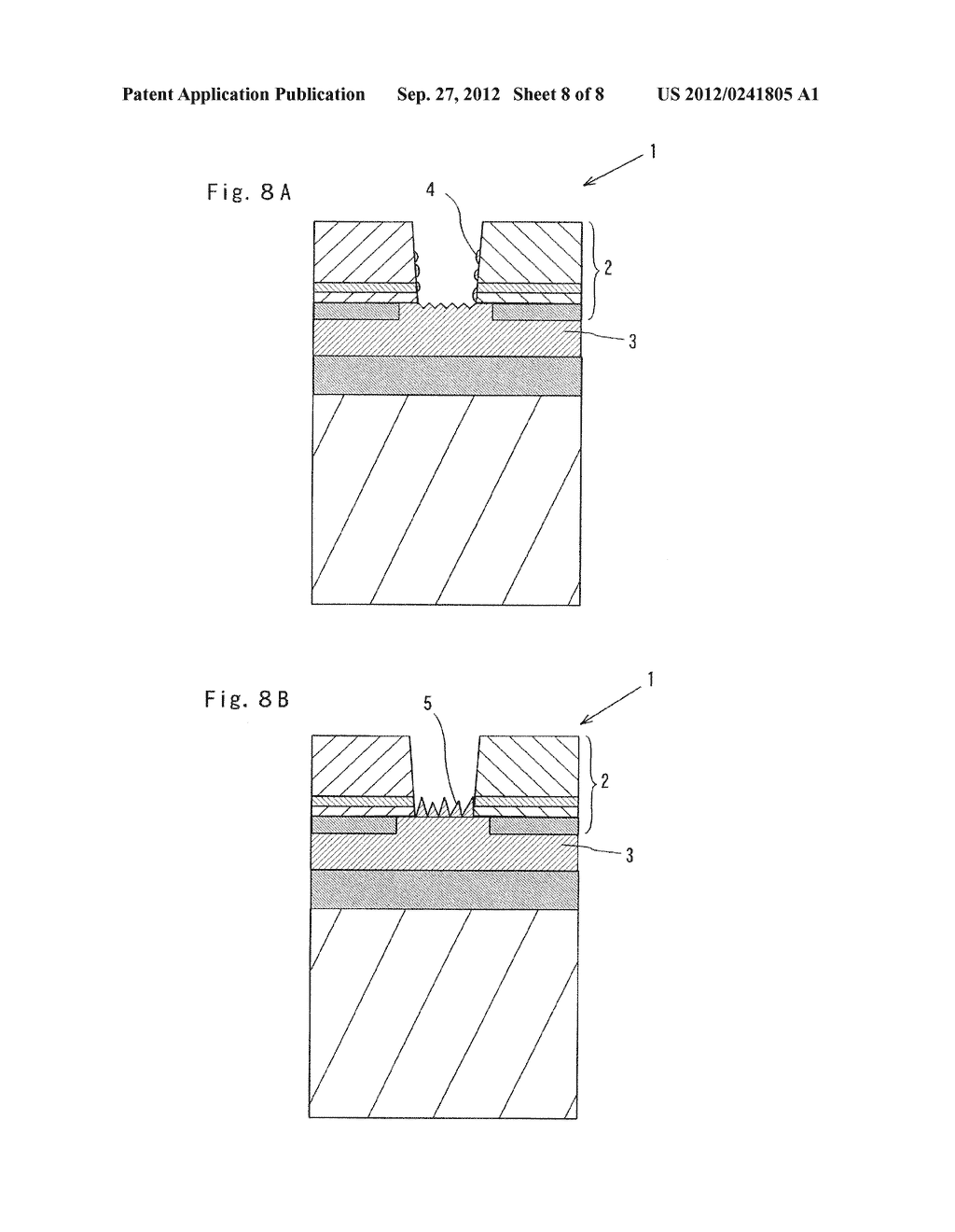 SEMICONDUCTOR LIGHT EMITTING ELEMENT AND MANUFACTURING METHOD THEREOF - diagram, schematic, and image 09