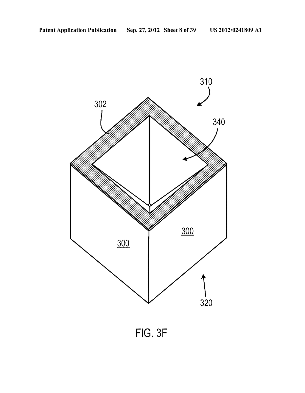 MANUFACTURING PROCESS FOR SOLID STATE LIGHTING DEVICE ON A CONDUCTIVE     SUBSTRATE - diagram, schematic, and image 09
