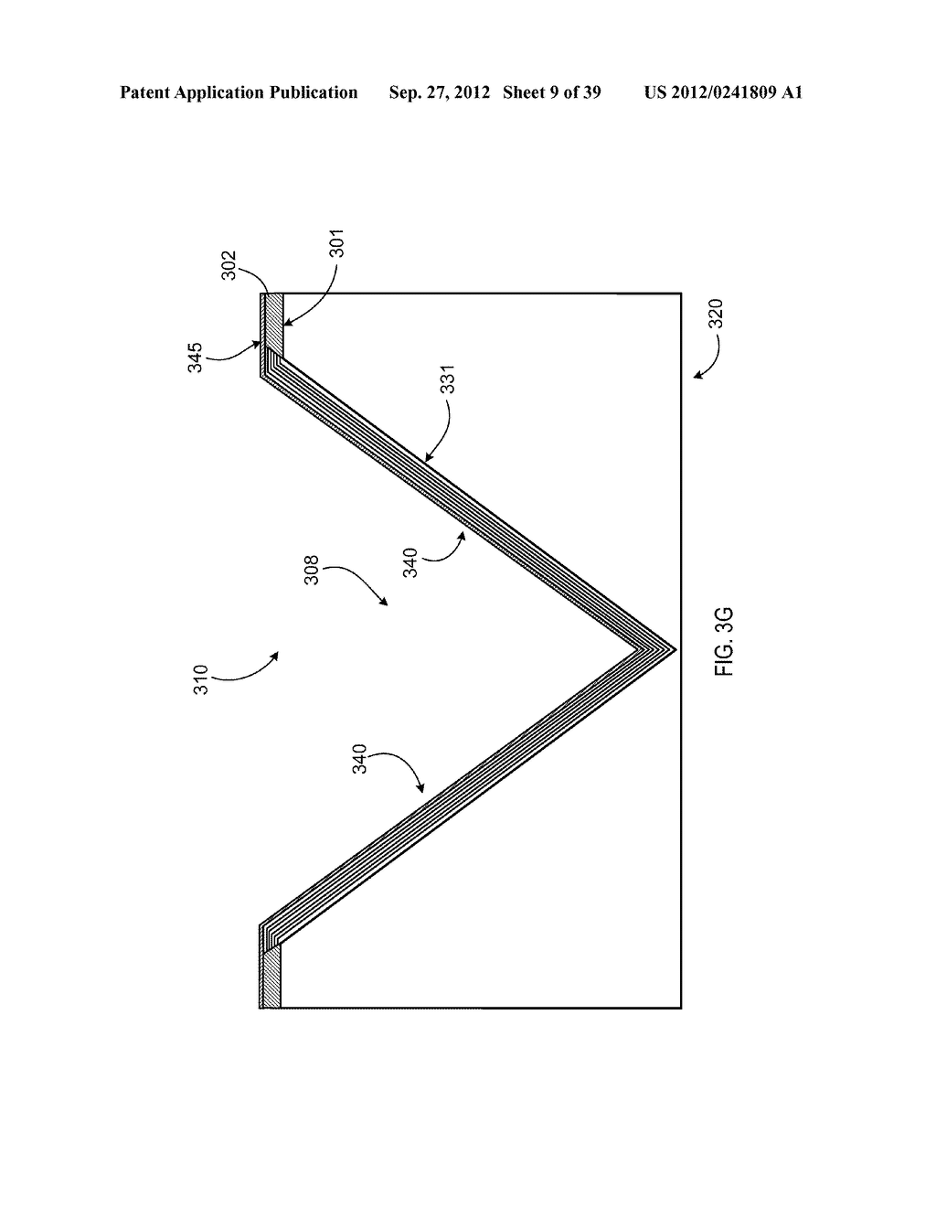 MANUFACTURING PROCESS FOR SOLID STATE LIGHTING DEVICE ON A CONDUCTIVE     SUBSTRATE - diagram, schematic, and image 10