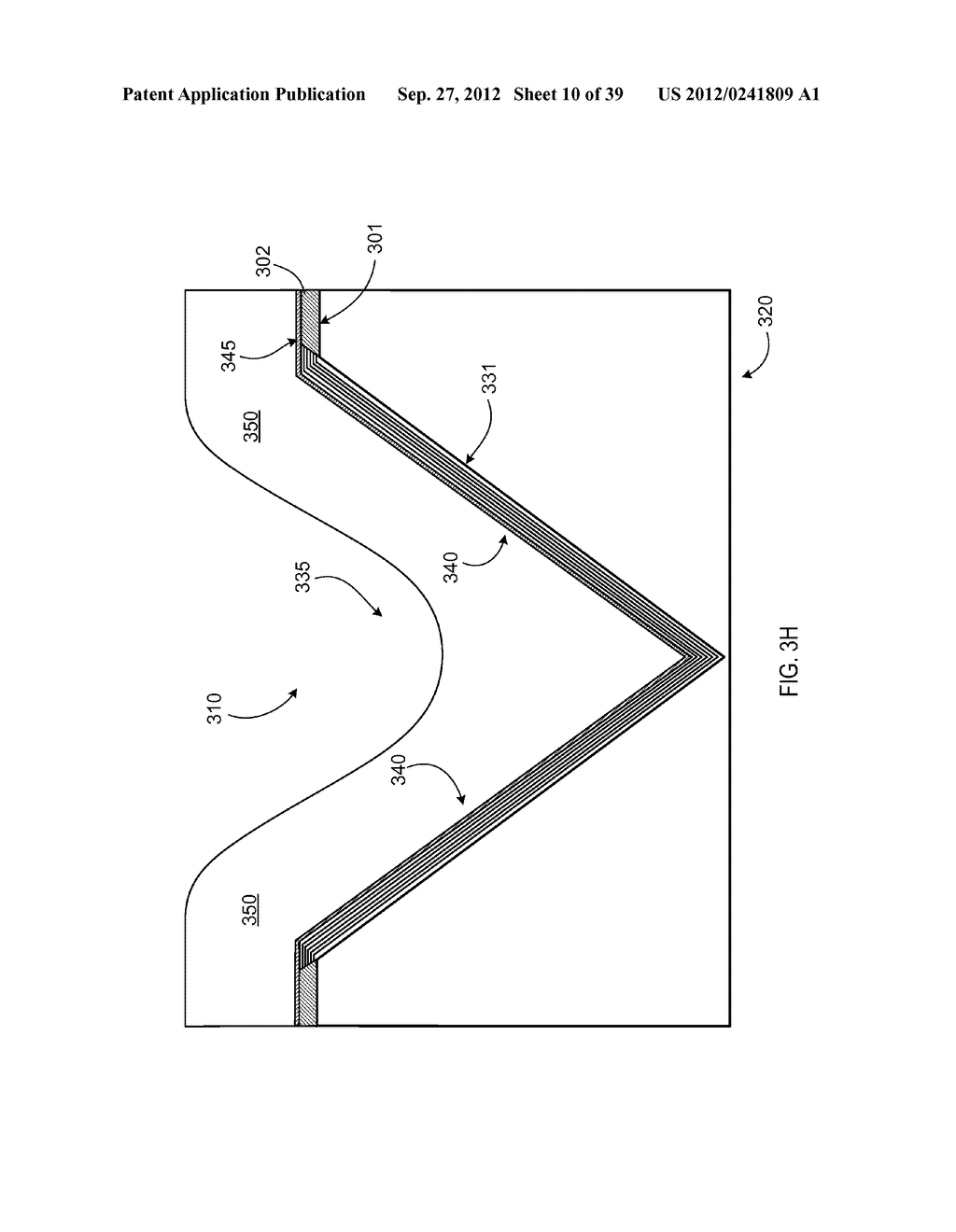 MANUFACTURING PROCESS FOR SOLID STATE LIGHTING DEVICE ON A CONDUCTIVE     SUBSTRATE - diagram, schematic, and image 11