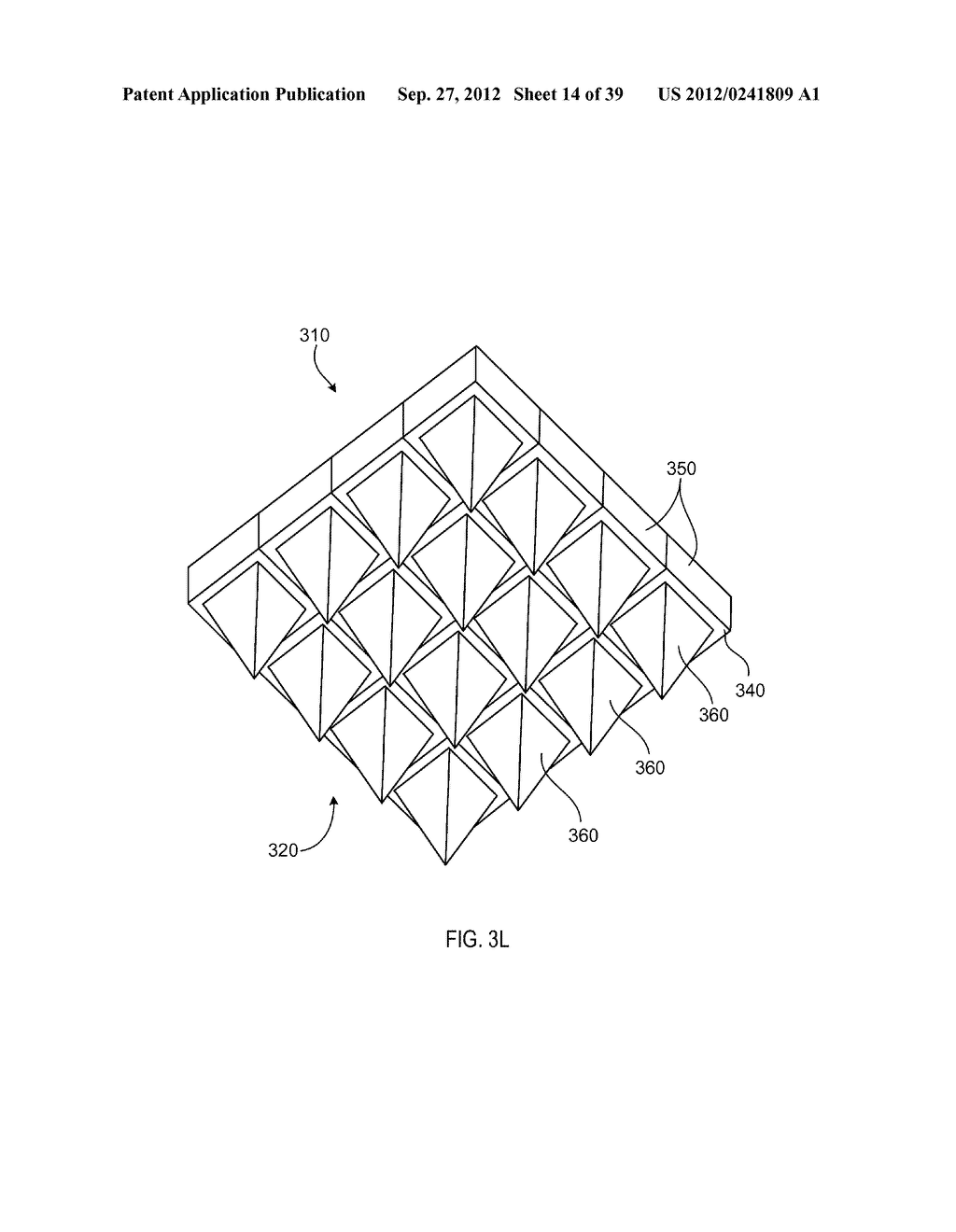 MANUFACTURING PROCESS FOR SOLID STATE LIGHTING DEVICE ON A CONDUCTIVE     SUBSTRATE - diagram, schematic, and image 15