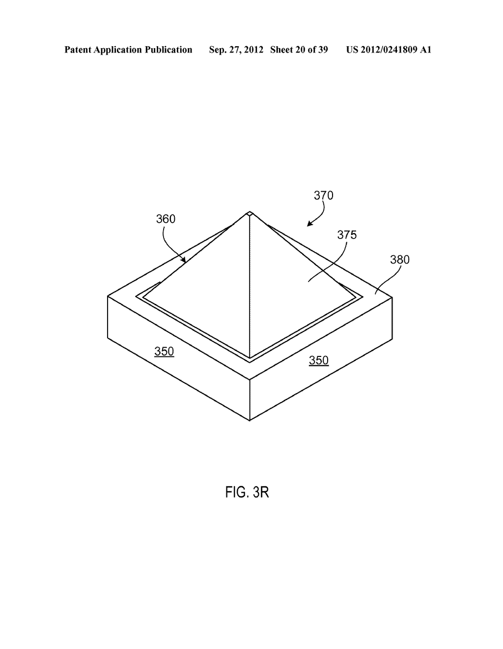 MANUFACTURING PROCESS FOR SOLID STATE LIGHTING DEVICE ON A CONDUCTIVE     SUBSTRATE - diagram, schematic, and image 21