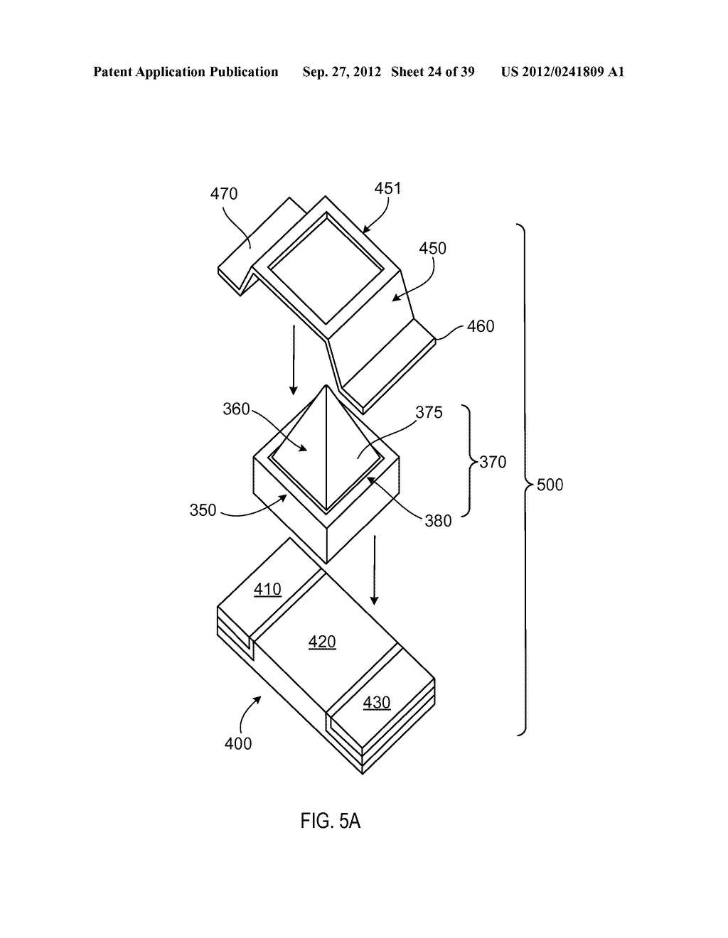MANUFACTURING PROCESS FOR SOLID STATE LIGHTING DEVICE ON A CONDUCTIVE     SUBSTRATE - diagram, schematic, and image 25