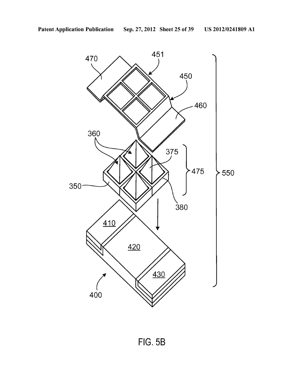 MANUFACTURING PROCESS FOR SOLID STATE LIGHTING DEVICE ON A CONDUCTIVE     SUBSTRATE - diagram, schematic, and image 26