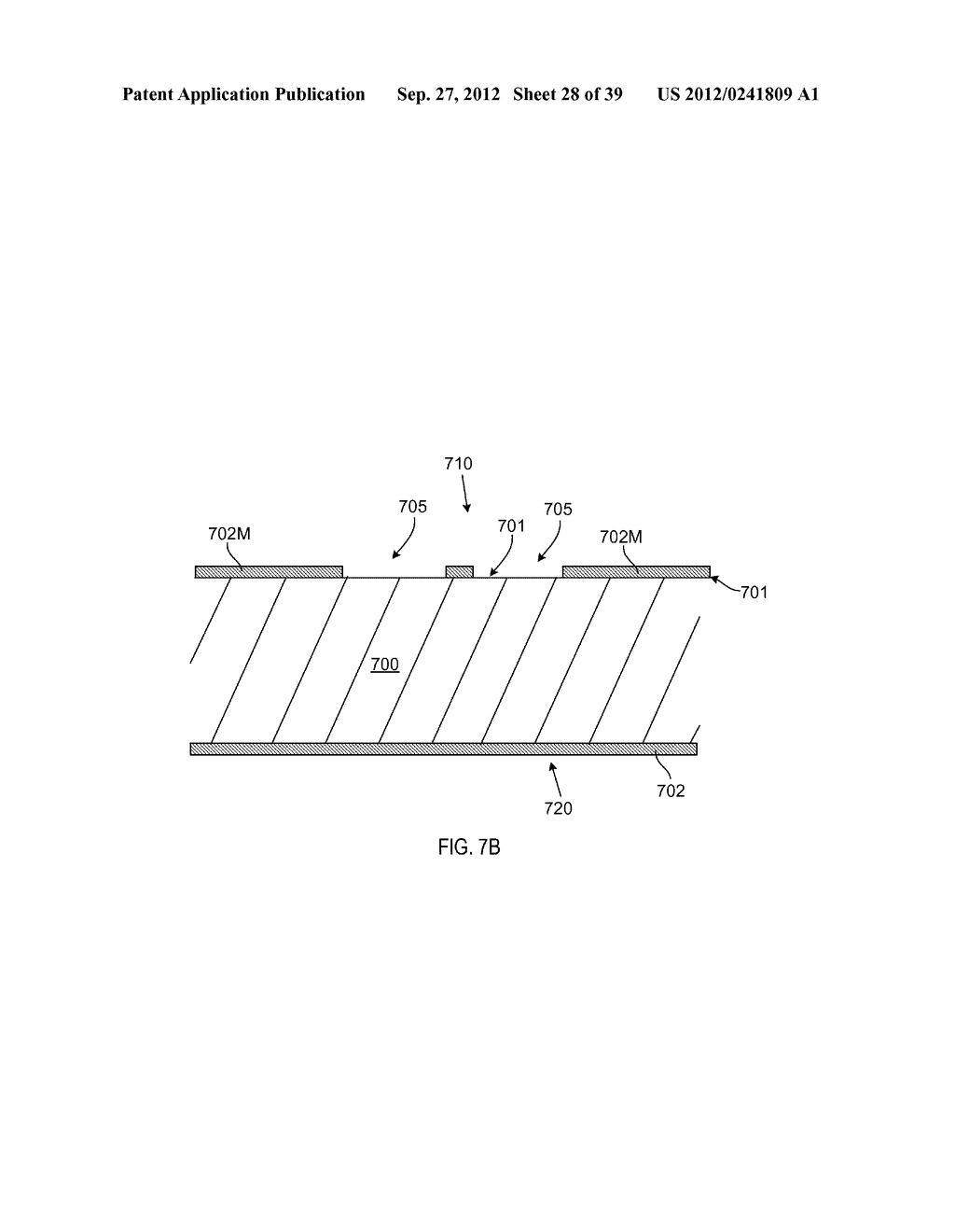 MANUFACTURING PROCESS FOR SOLID STATE LIGHTING DEVICE ON A CONDUCTIVE     SUBSTRATE - diagram, schematic, and image 29