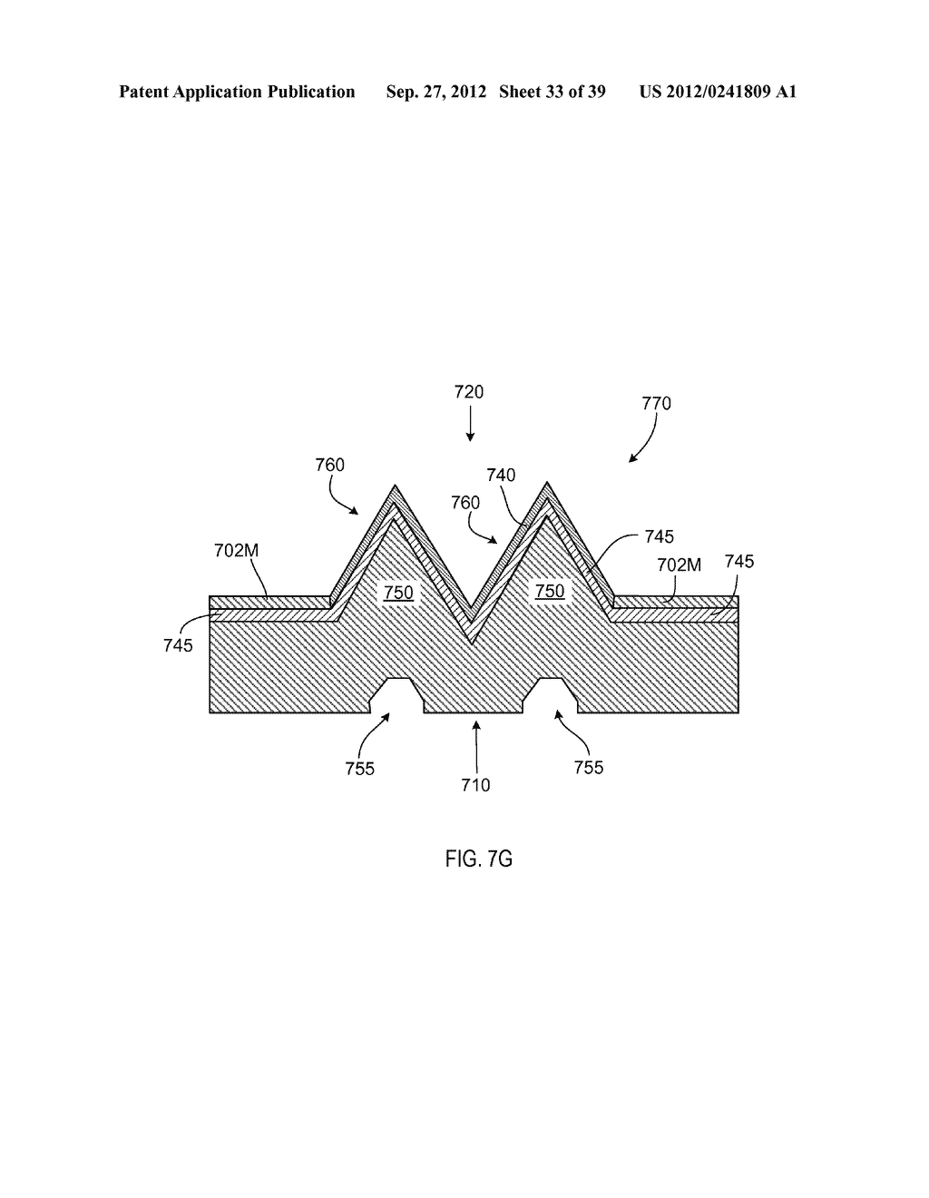 MANUFACTURING PROCESS FOR SOLID STATE LIGHTING DEVICE ON A CONDUCTIVE     SUBSTRATE - diagram, schematic, and image 34