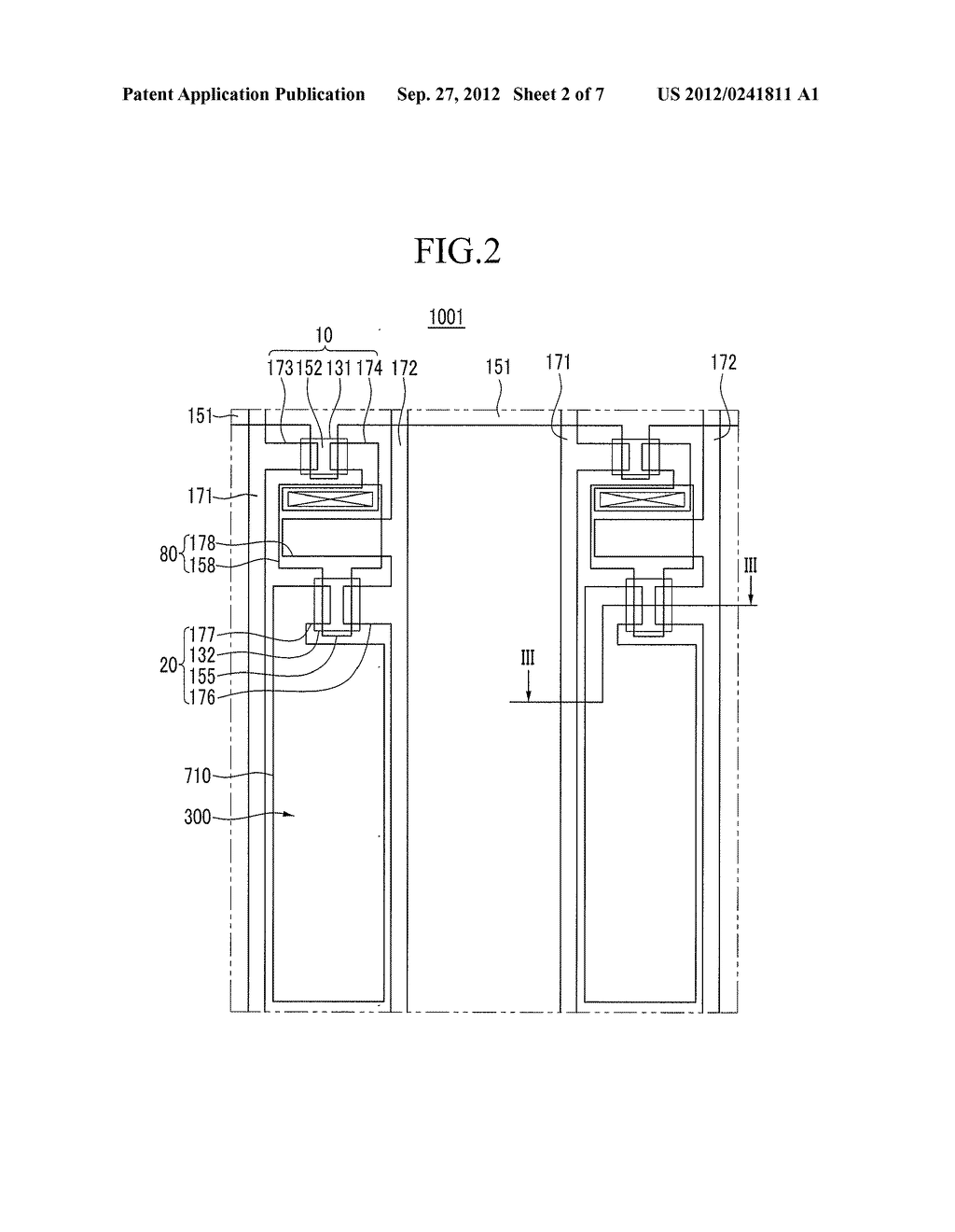 Organic Light Emitting Diode Display and Manufacturing Method of Organic     Light Emitting Diode Display - diagram, schematic, and image 03