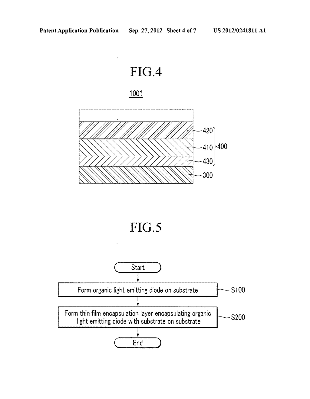 Organic Light Emitting Diode Display and Manufacturing Method of Organic     Light Emitting Diode Display - diagram, schematic, and image 05
