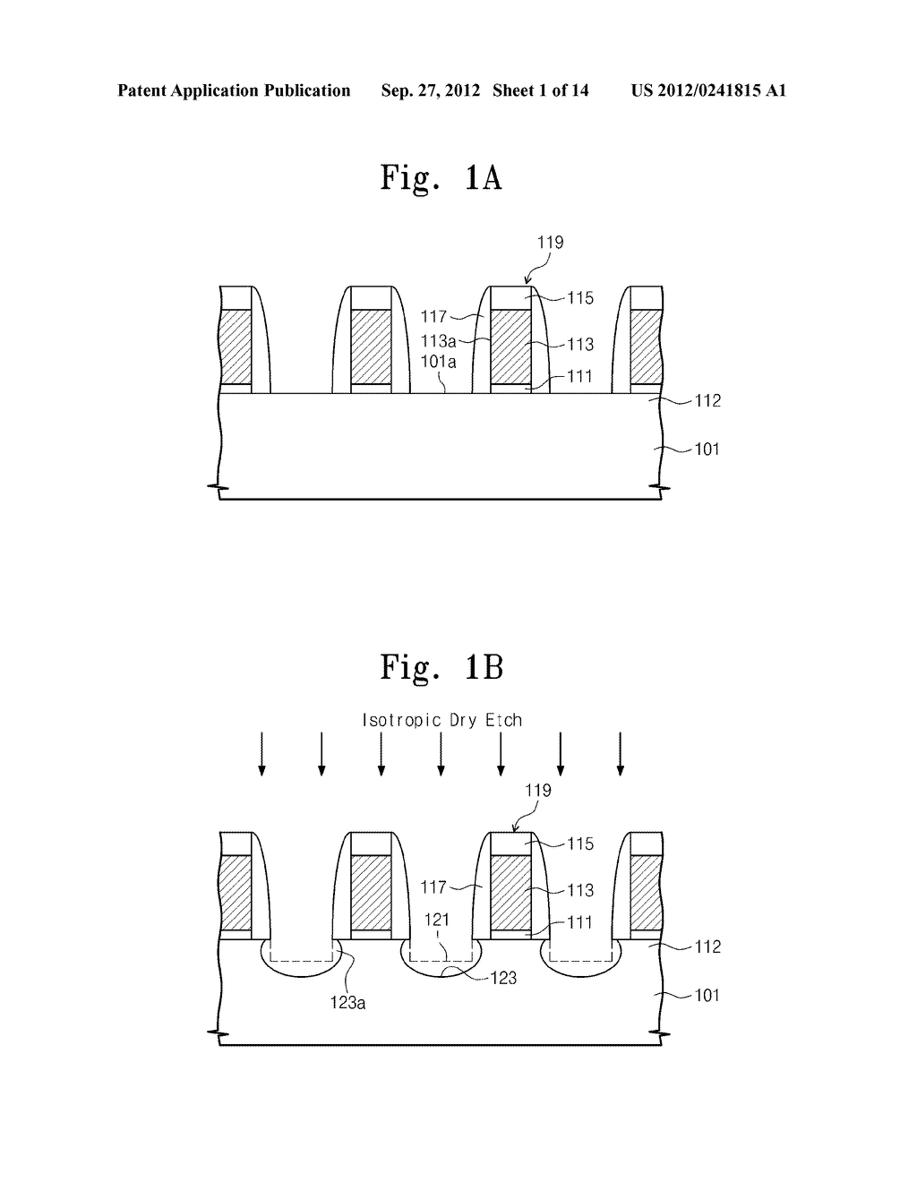 SEMICONDUCTOR DEVICES AND METHODS OF FABRICATING THE SAME - diagram, schematic, and image 02