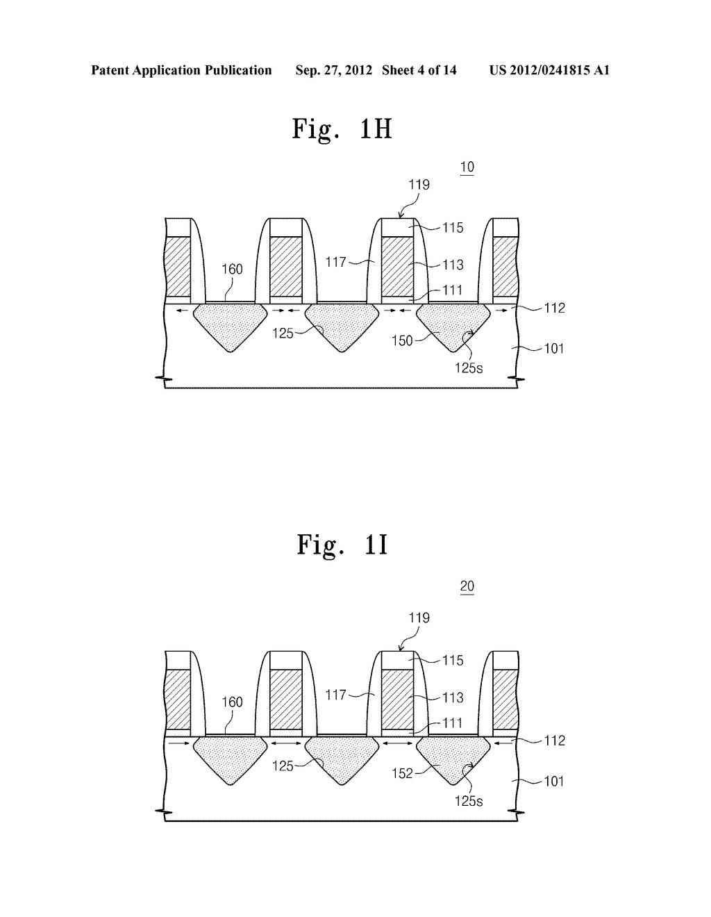SEMICONDUCTOR DEVICES AND METHODS OF FABRICATING THE SAME - diagram, schematic, and image 05