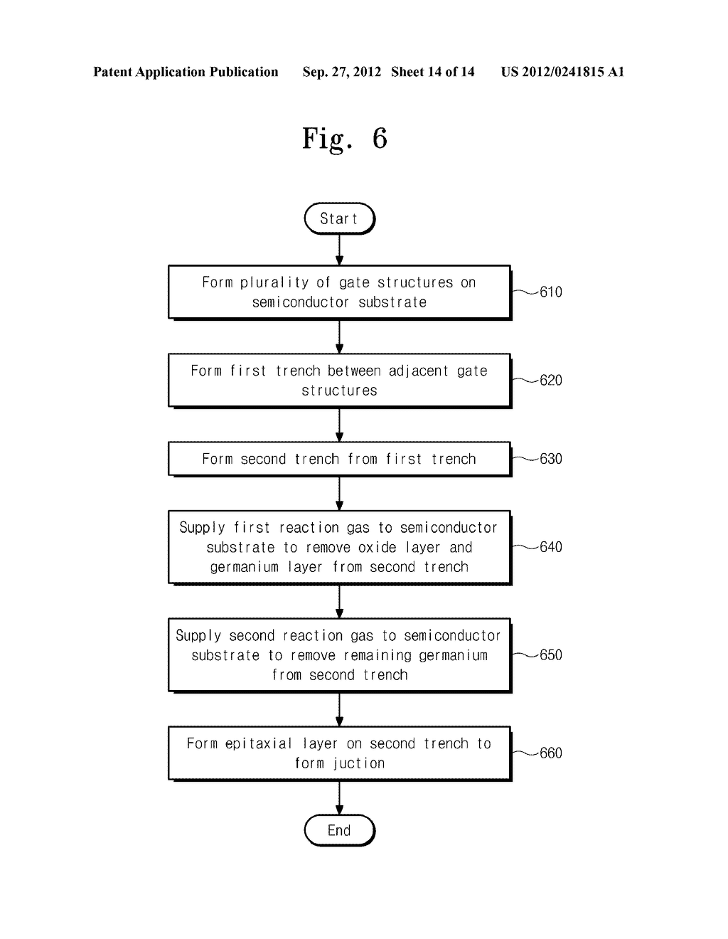 SEMICONDUCTOR DEVICES AND METHODS OF FABRICATING THE SAME - diagram, schematic, and image 15