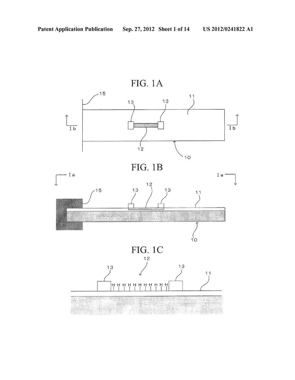 SEMICONDUCTOR DEVICE, DISTORTION GAUGE, PRESSURE SENSOR, AND METHOD OF     MANUFACTURING SEMICONDUCTOR DEVICE - diagram, schematic, and image 02