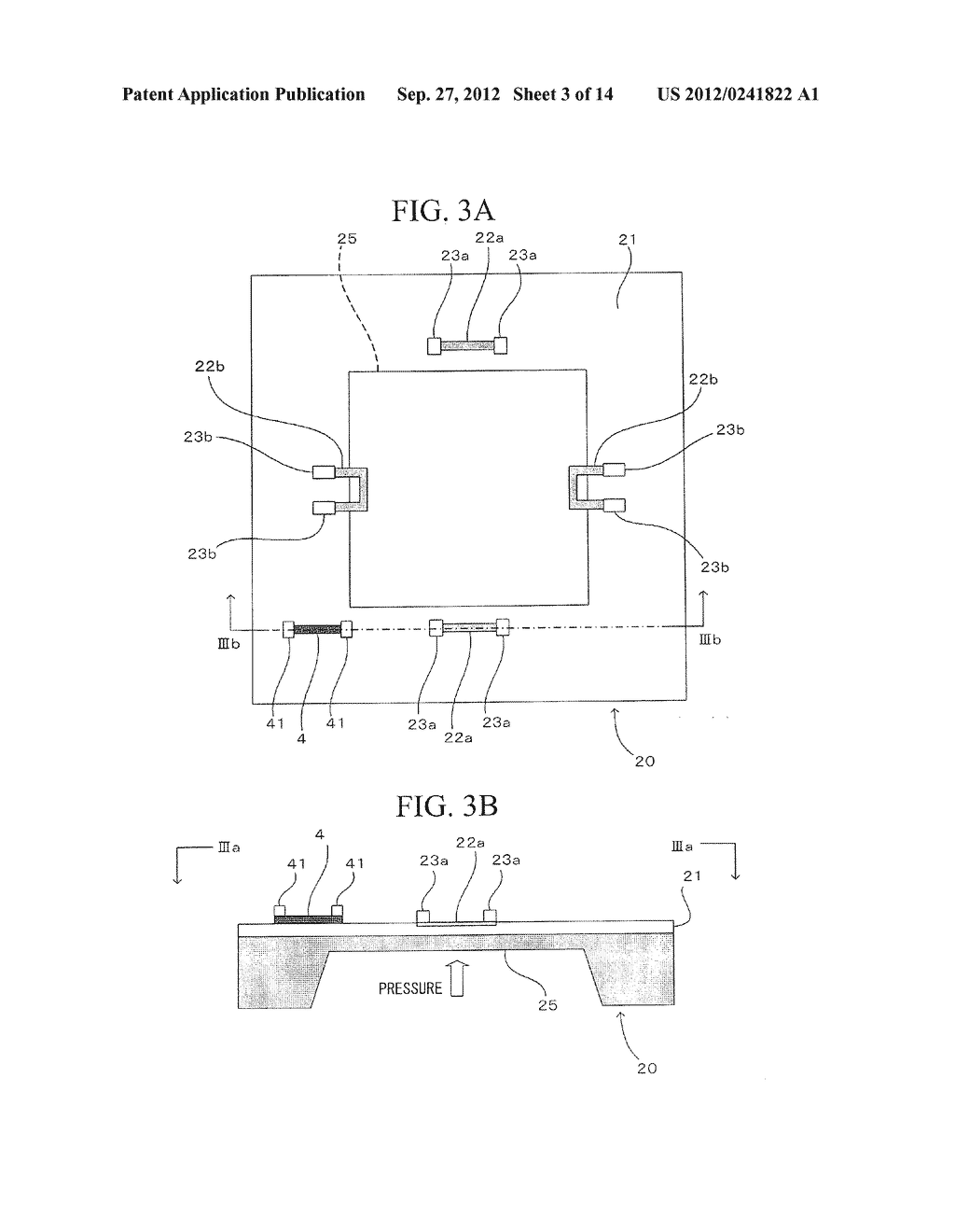 SEMICONDUCTOR DEVICE, DISTORTION GAUGE, PRESSURE SENSOR, AND METHOD OF     MANUFACTURING SEMICONDUCTOR DEVICE - diagram, schematic, and image 04