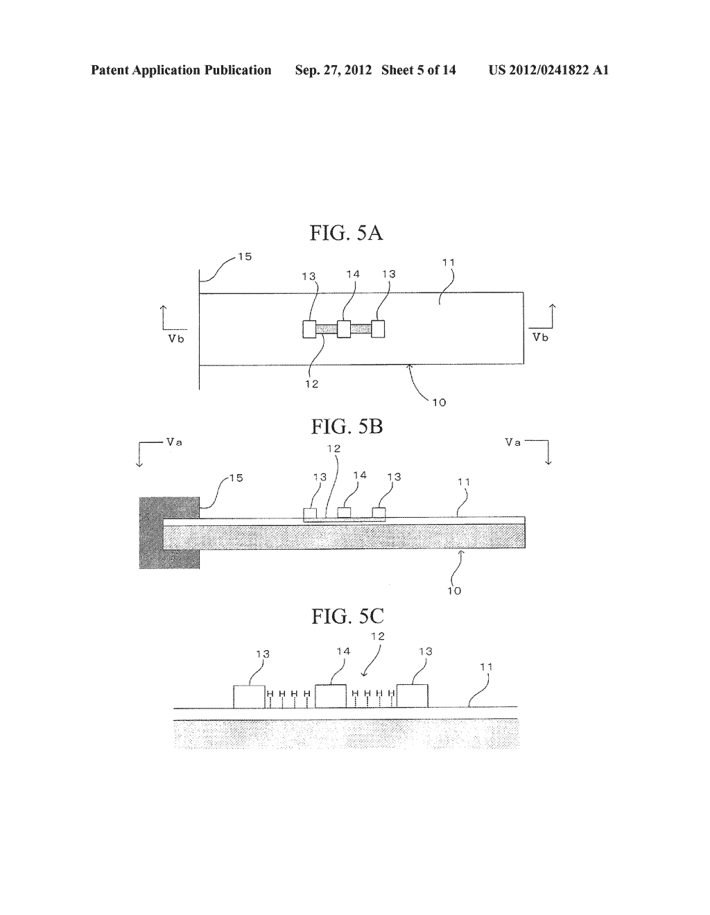 SEMICONDUCTOR DEVICE, DISTORTION GAUGE, PRESSURE SENSOR, AND METHOD OF     MANUFACTURING SEMICONDUCTOR DEVICE - diagram, schematic, and image 06