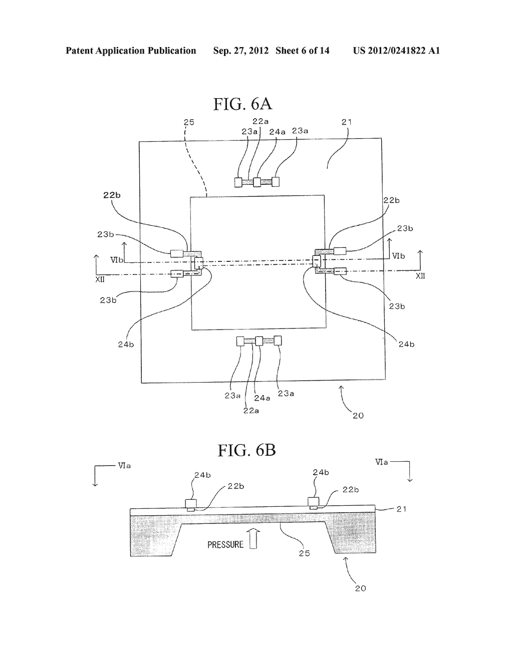 SEMICONDUCTOR DEVICE, DISTORTION GAUGE, PRESSURE SENSOR, AND METHOD OF     MANUFACTURING SEMICONDUCTOR DEVICE - diagram, schematic, and image 07