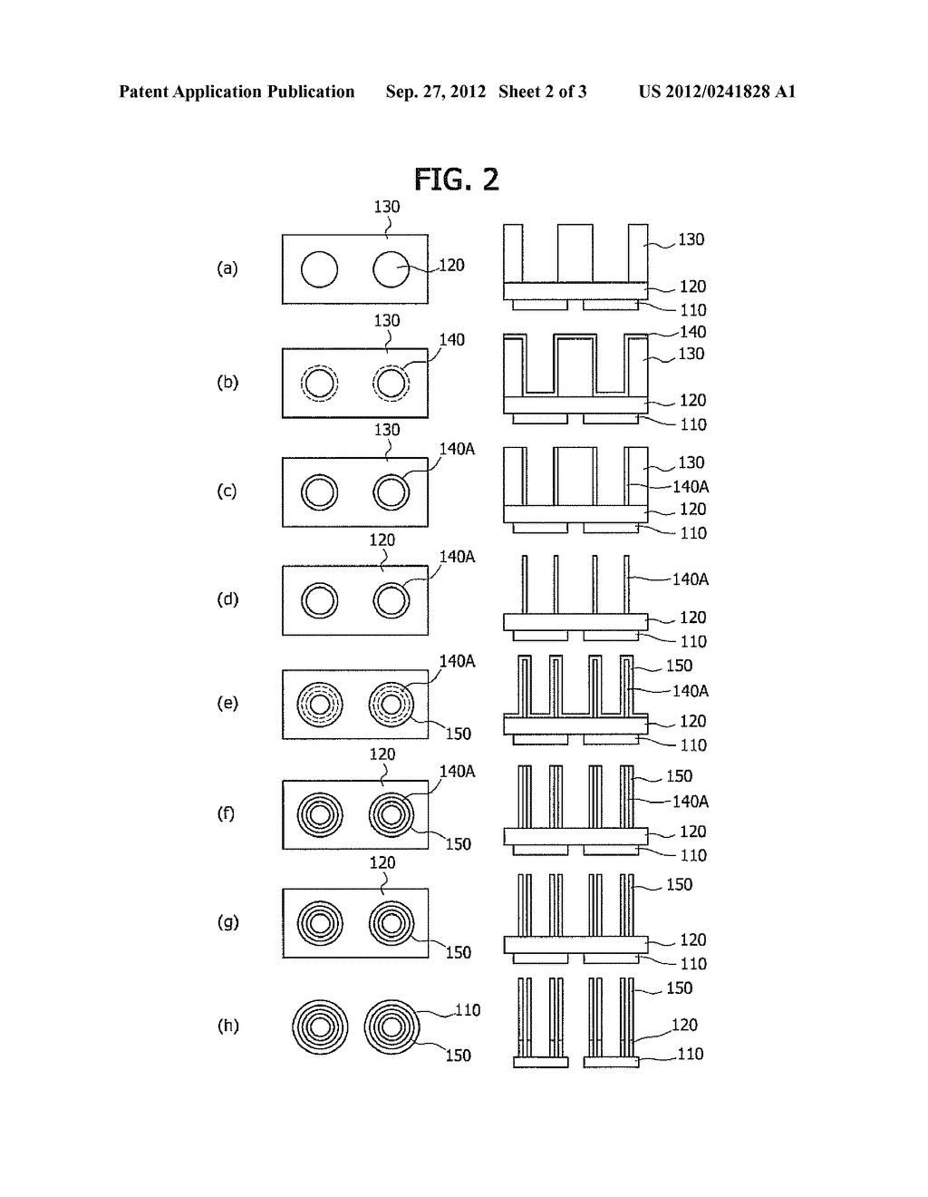 SEMICONDUCTOR MEMORY DEVICE AND MANUFACTURING METHOD THEREOF - diagram, schematic, and image 03