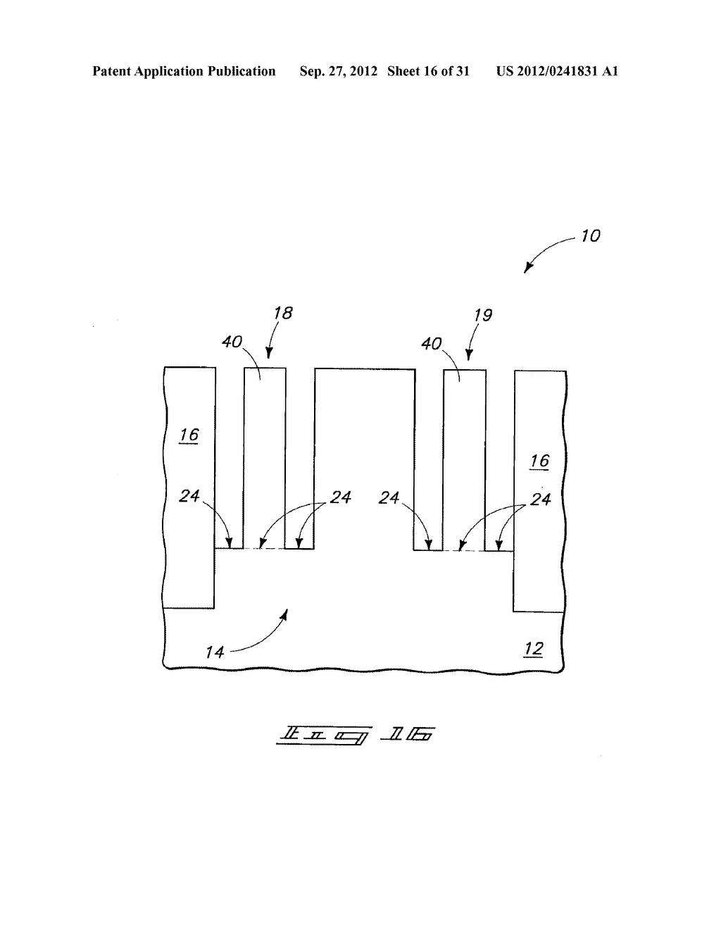 Methods of Forming Vertical Field Effect Transistors, Vertical Field     Effect Transistors, and DRAM Cells - diagram, schematic, and image 17