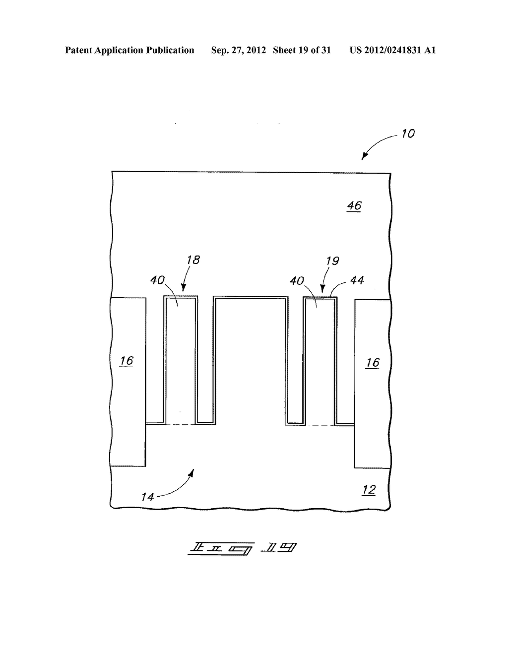 Methods of Forming Vertical Field Effect Transistors, Vertical Field     Effect Transistors, and DRAM Cells - diagram, schematic, and image 20