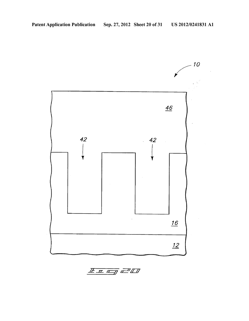 Methods of Forming Vertical Field Effect Transistors, Vertical Field     Effect Transistors, and DRAM Cells - diagram, schematic, and image 21