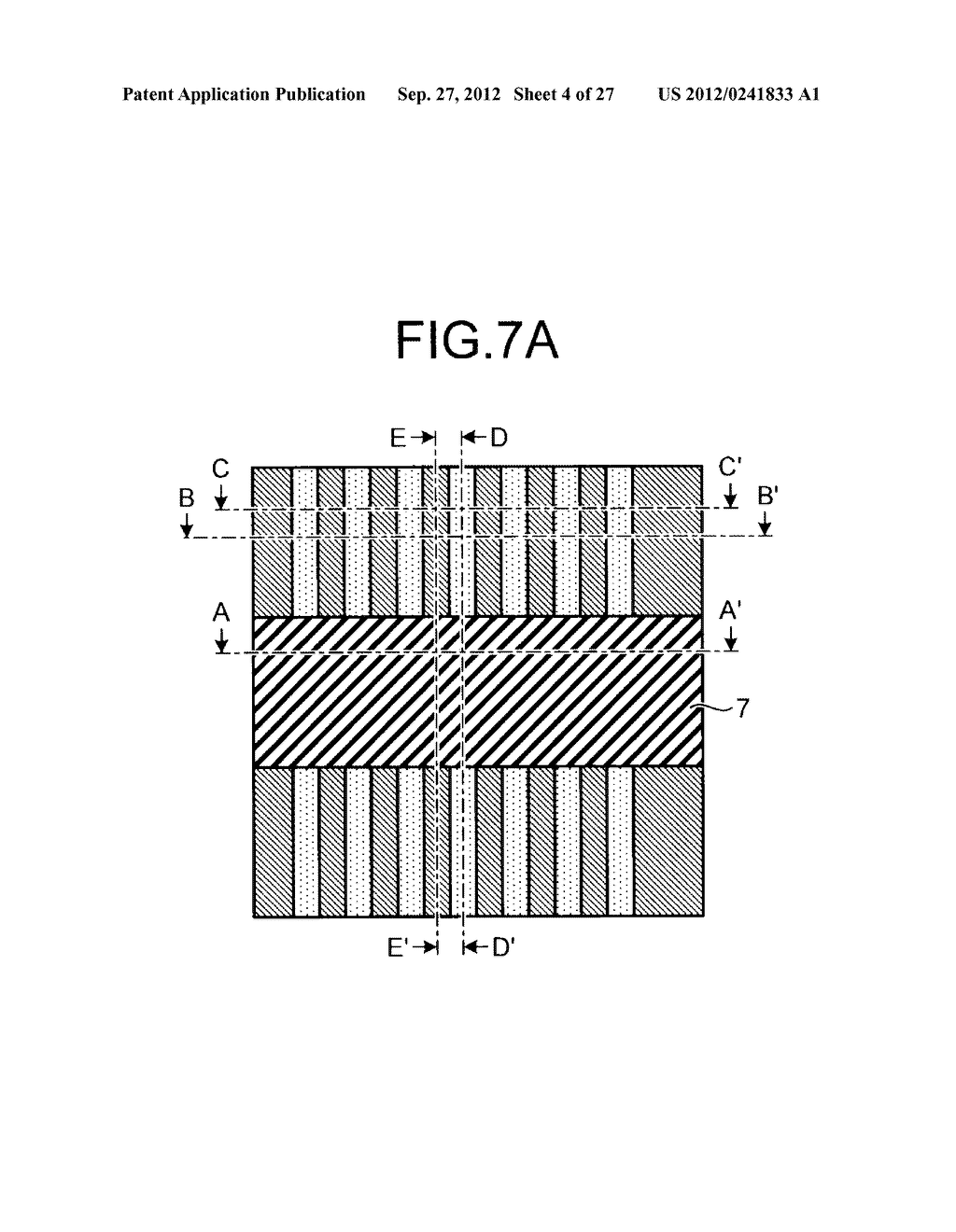 NONVOLATILE SEMICONDUCTOR STORAGE DEVICE AND METHOD FOR MANUFACTURING THE     SAME - diagram, schematic, and image 05
