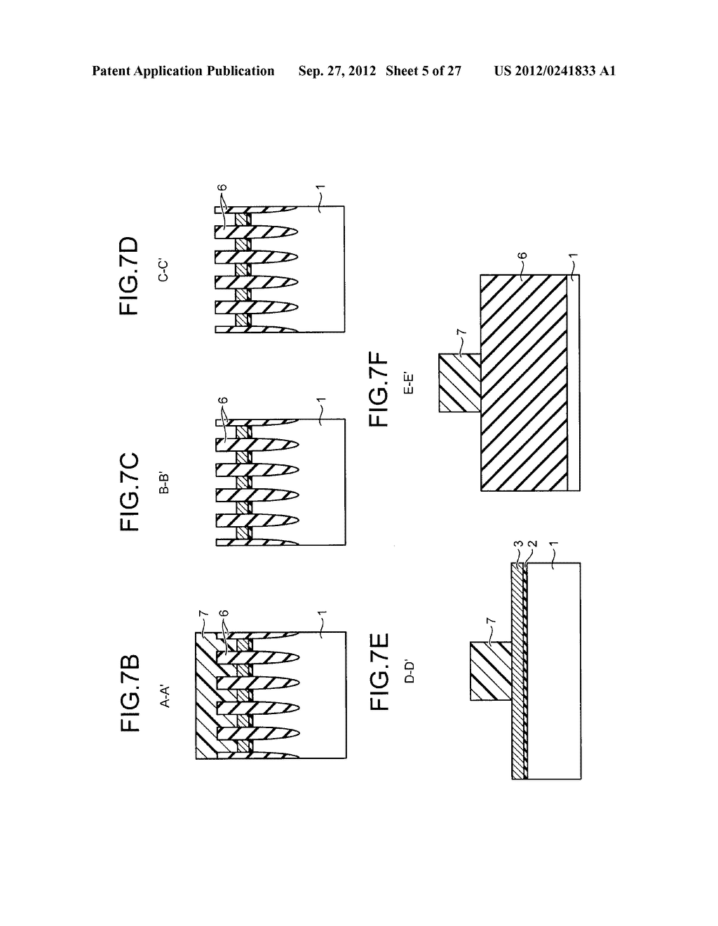 NONVOLATILE SEMICONDUCTOR STORAGE DEVICE AND METHOD FOR MANUFACTURING THE     SAME - diagram, schematic, and image 06