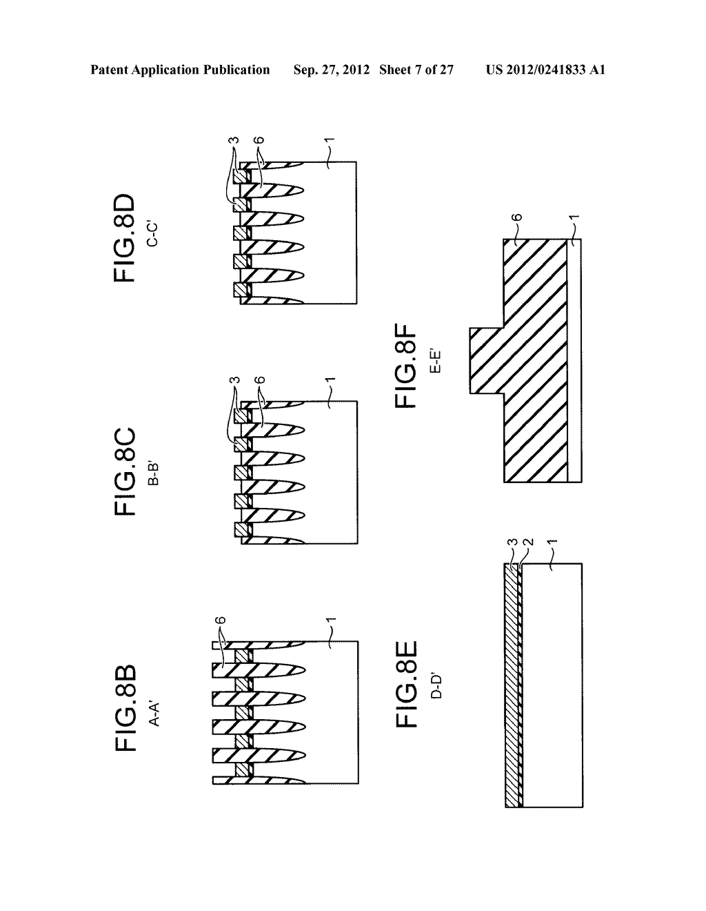 NONVOLATILE SEMICONDUCTOR STORAGE DEVICE AND METHOD FOR MANUFACTURING THE     SAME - diagram, schematic, and image 08