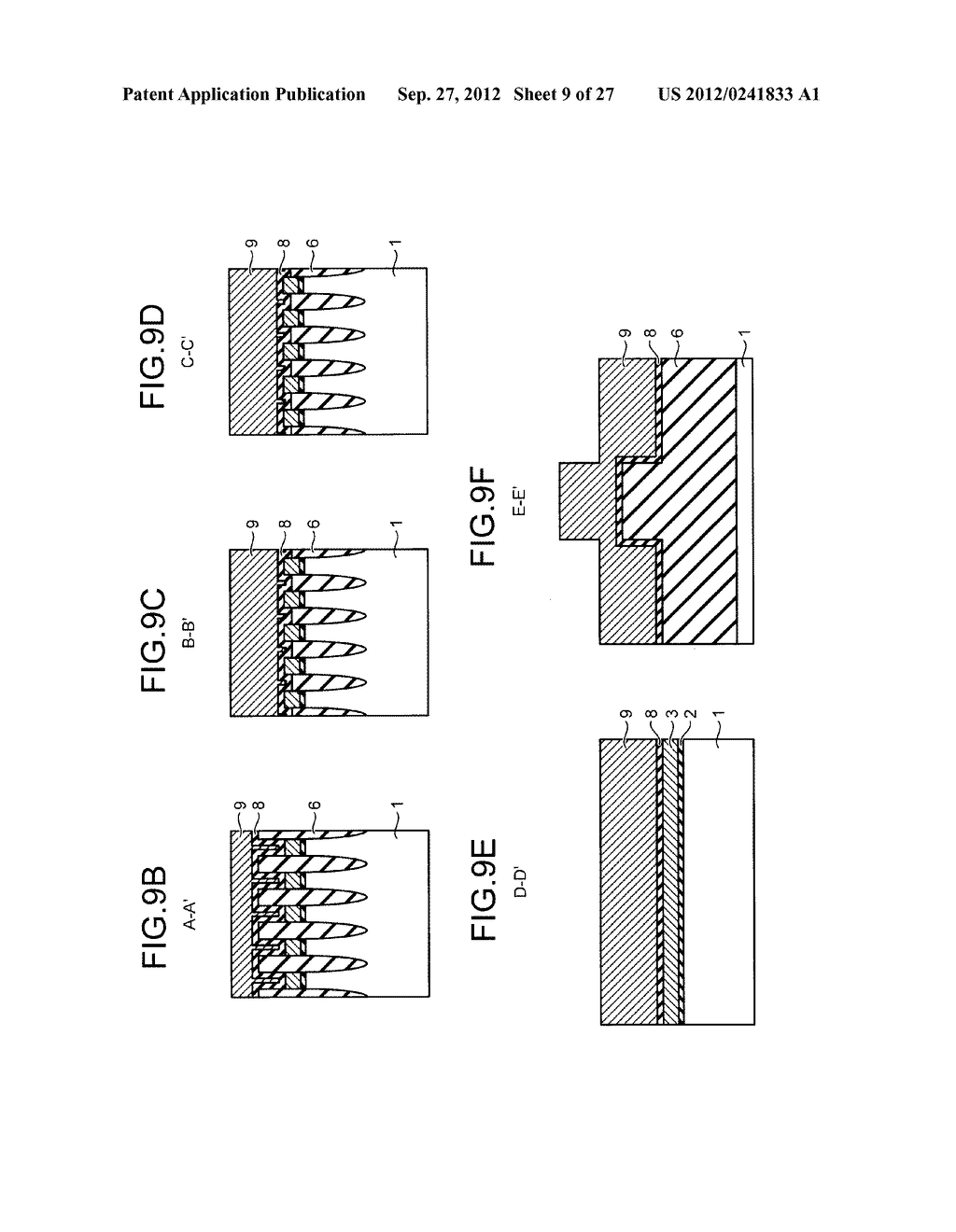 NONVOLATILE SEMICONDUCTOR STORAGE DEVICE AND METHOD FOR MANUFACTURING THE     SAME - diagram, schematic, and image 10