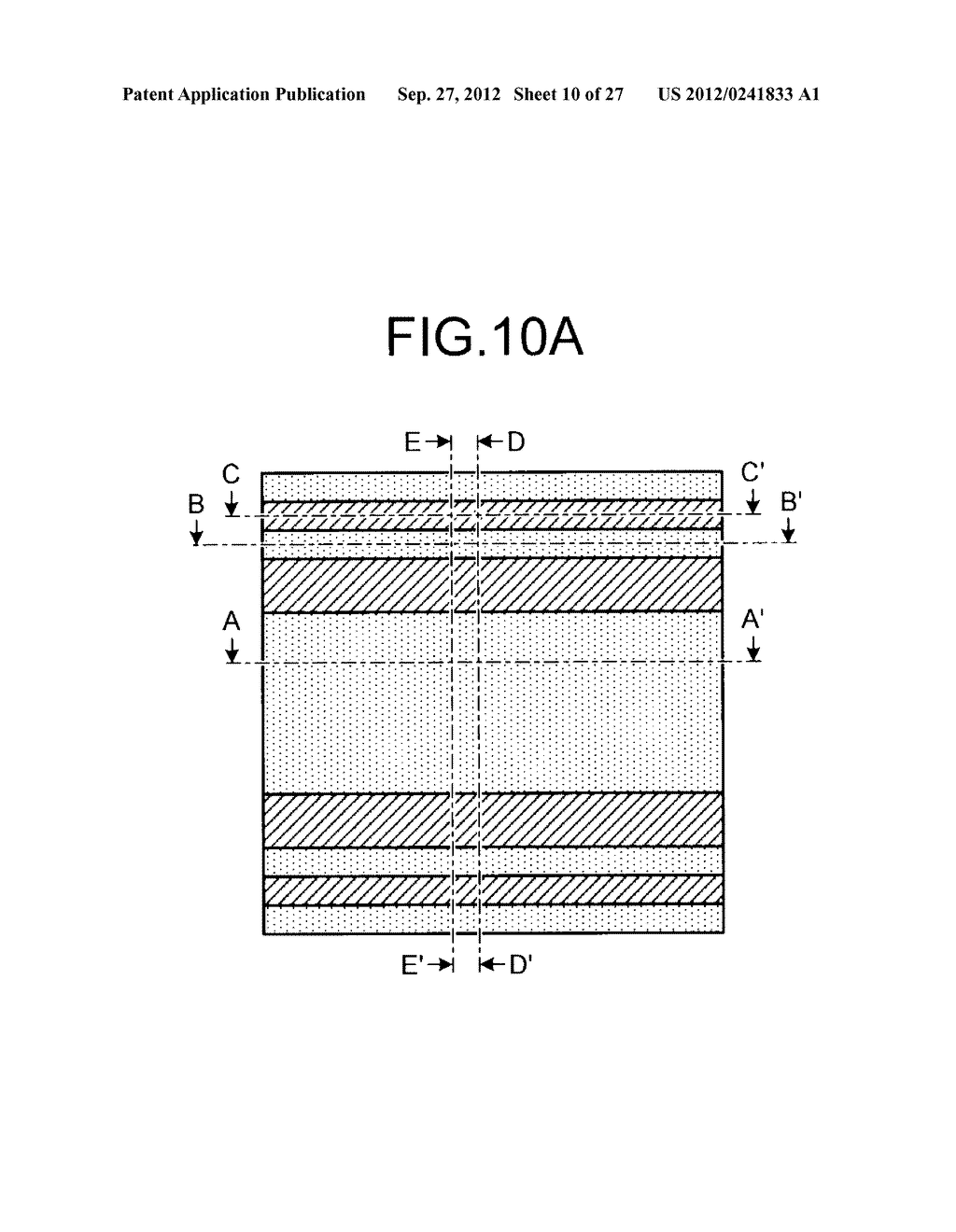 NONVOLATILE SEMICONDUCTOR STORAGE DEVICE AND METHOD FOR MANUFACTURING THE     SAME - diagram, schematic, and image 11