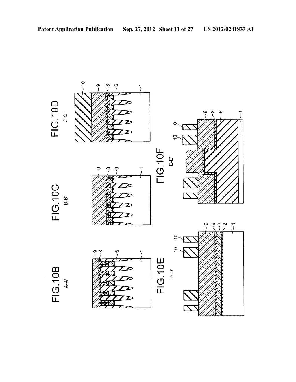 NONVOLATILE SEMICONDUCTOR STORAGE DEVICE AND METHOD FOR MANUFACTURING THE     SAME - diagram, schematic, and image 12