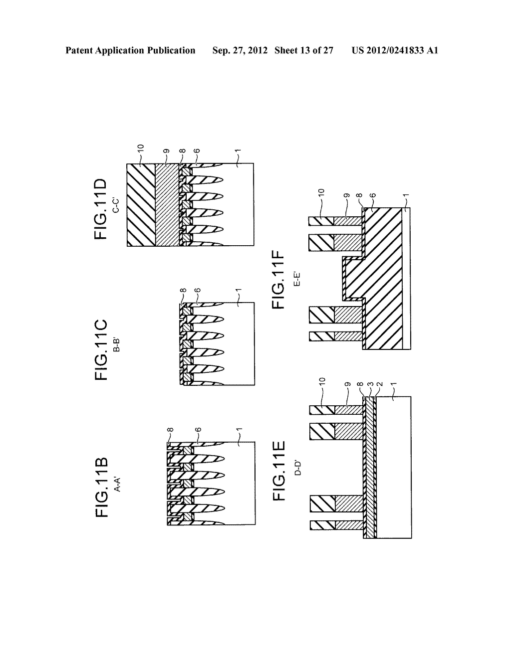 NONVOLATILE SEMICONDUCTOR STORAGE DEVICE AND METHOD FOR MANUFACTURING THE     SAME - diagram, schematic, and image 14