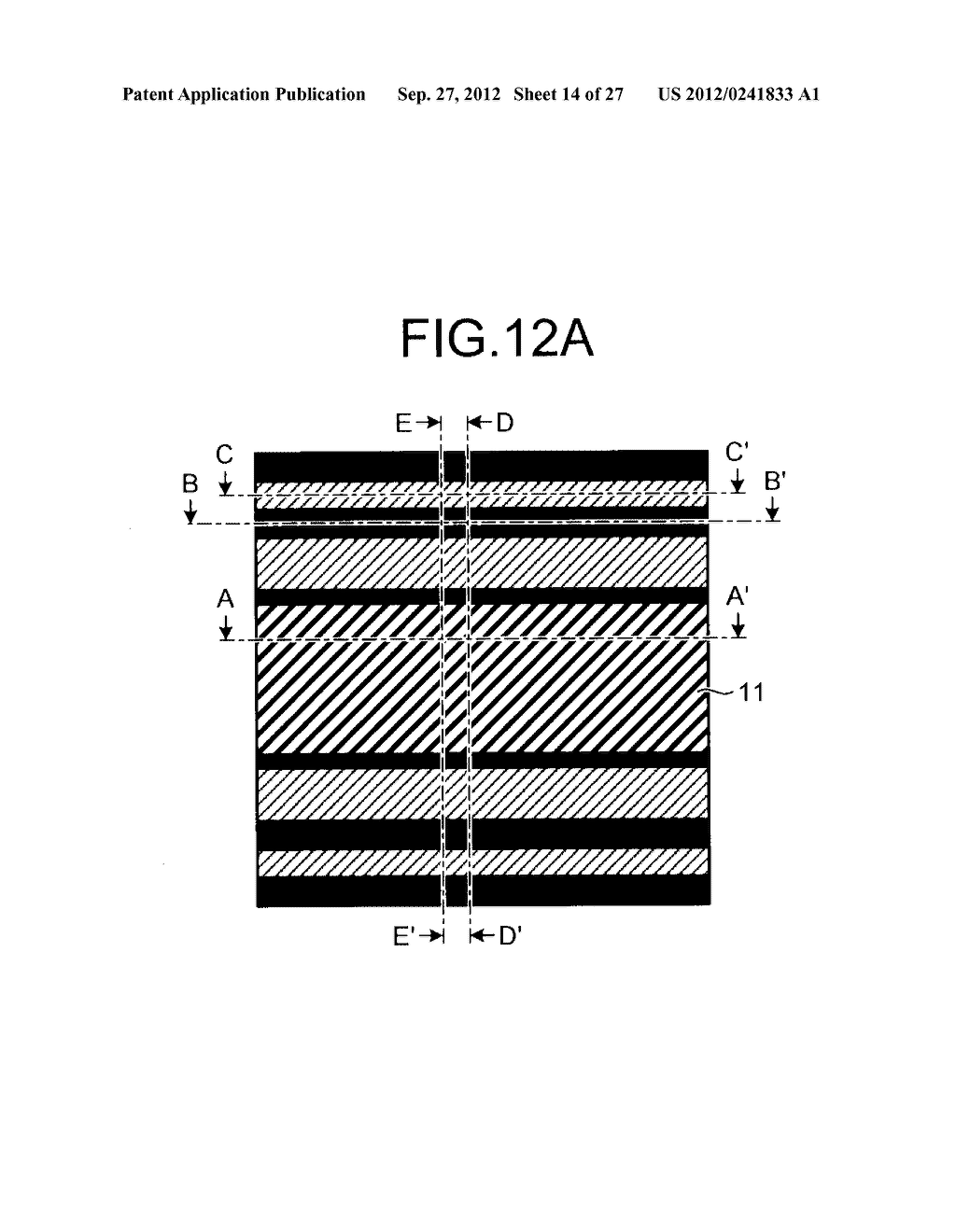 NONVOLATILE SEMICONDUCTOR STORAGE DEVICE AND METHOD FOR MANUFACTURING THE     SAME - diagram, schematic, and image 15