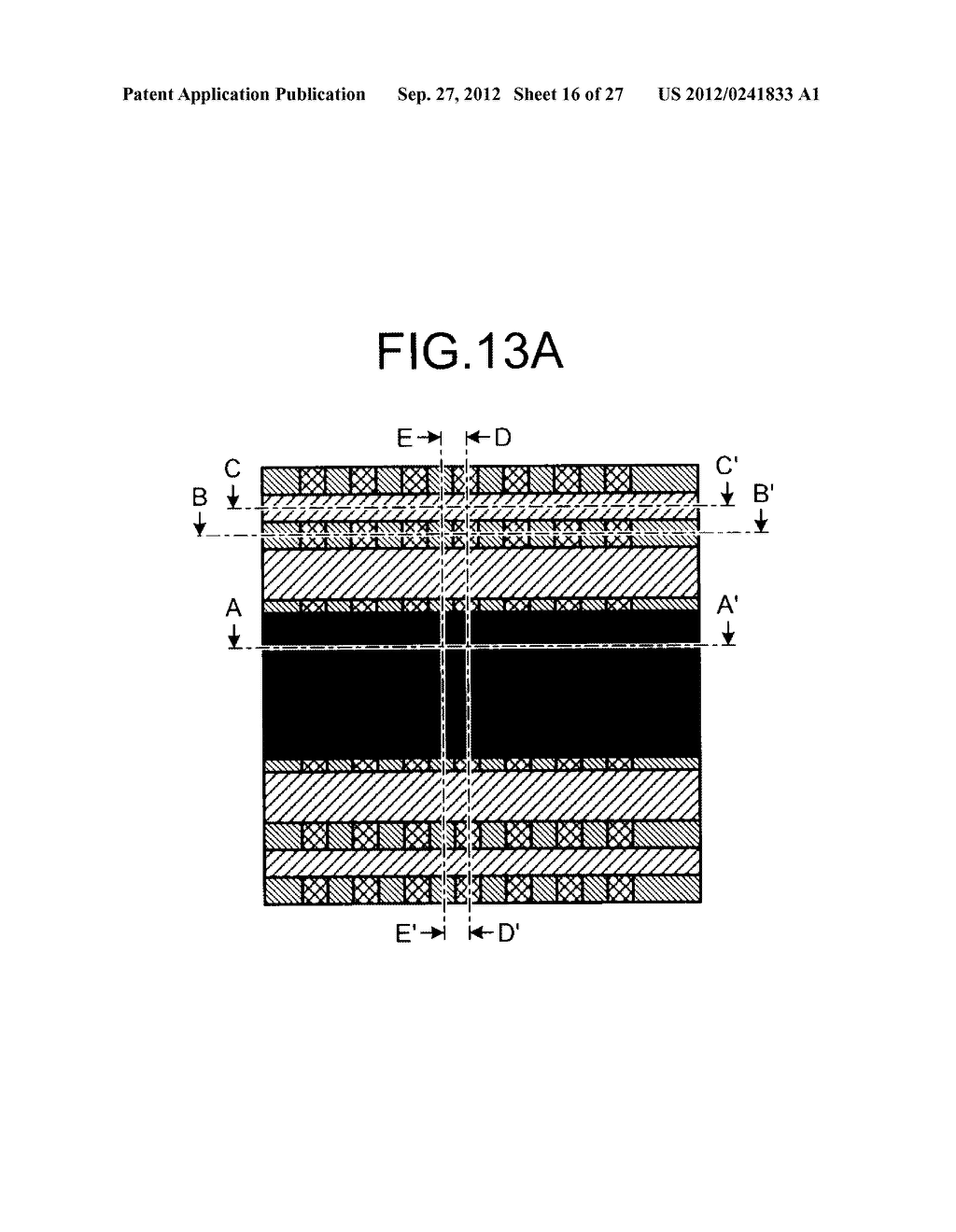NONVOLATILE SEMICONDUCTOR STORAGE DEVICE AND METHOD FOR MANUFACTURING THE     SAME - diagram, schematic, and image 17