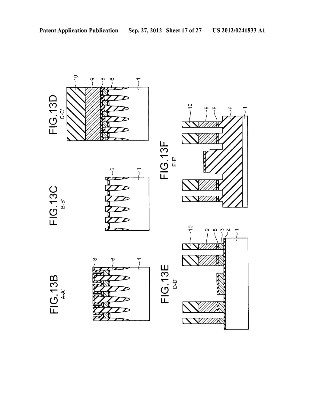 NONVOLATILE SEMICONDUCTOR STORAGE DEVICE AND METHOD FOR MANUFACTURING THE     SAME - diagram, schematic, and image 18