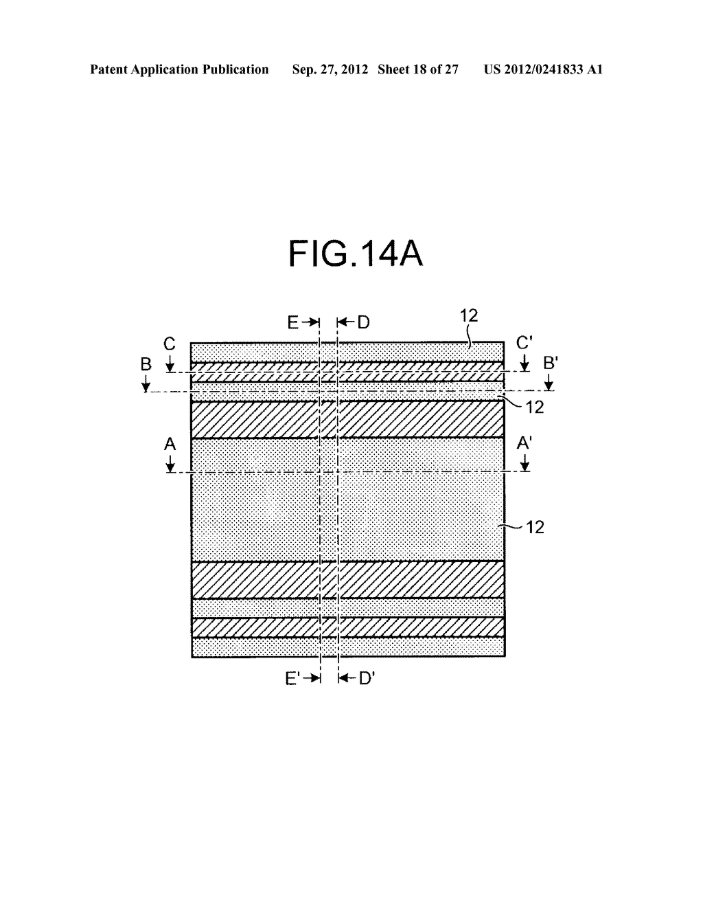 NONVOLATILE SEMICONDUCTOR STORAGE DEVICE AND METHOD FOR MANUFACTURING THE     SAME - diagram, schematic, and image 19
