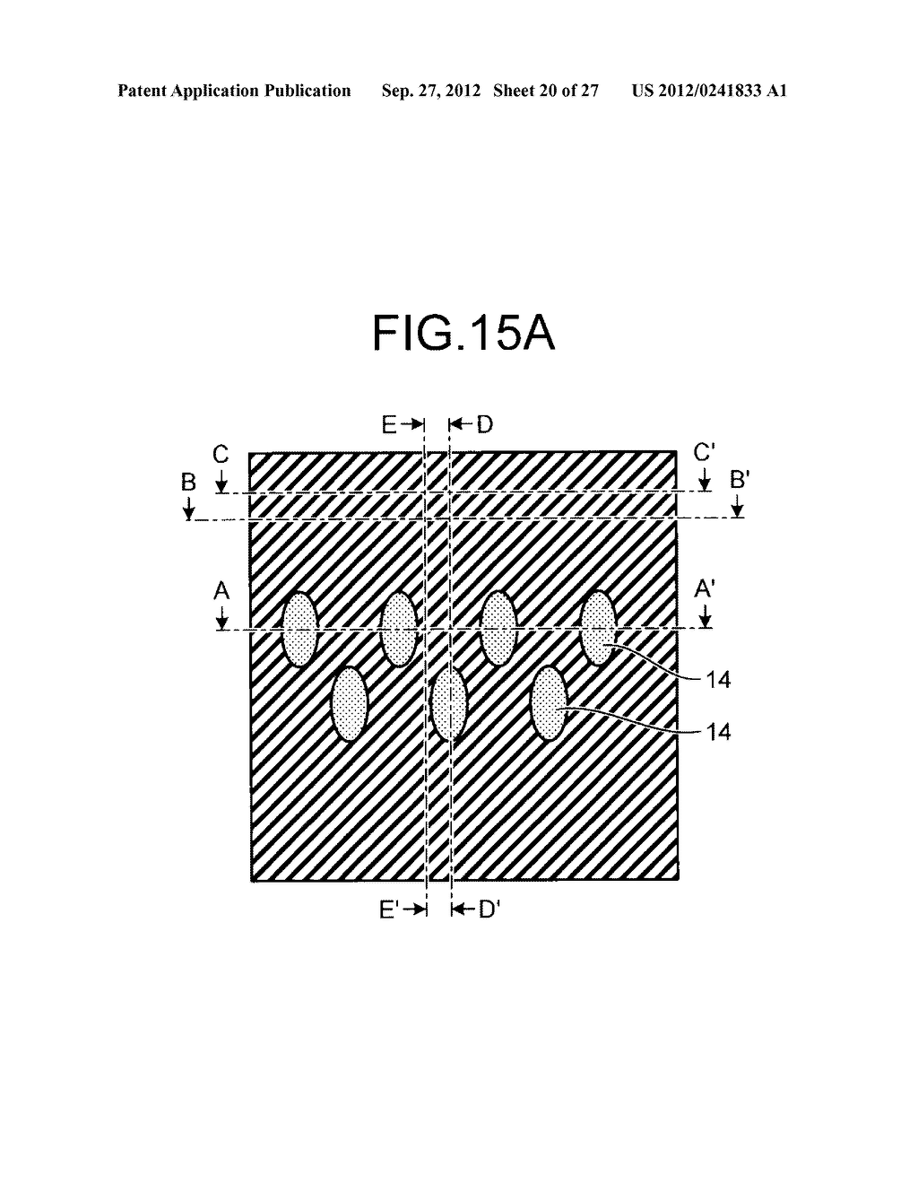 NONVOLATILE SEMICONDUCTOR STORAGE DEVICE AND METHOD FOR MANUFACTURING THE     SAME - diagram, schematic, and image 21