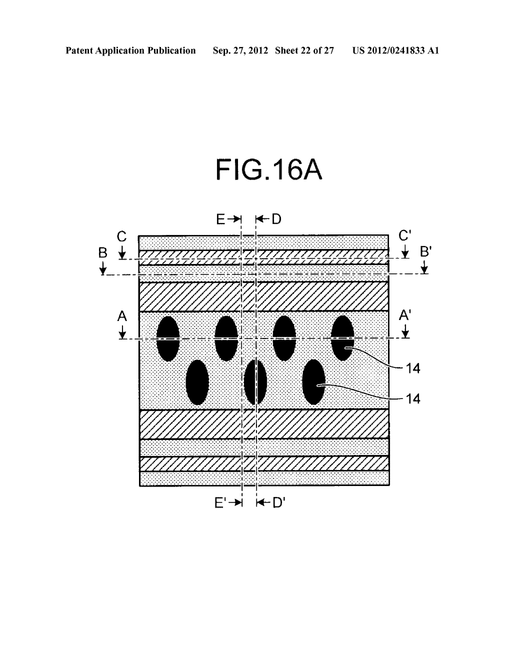 NONVOLATILE SEMICONDUCTOR STORAGE DEVICE AND METHOD FOR MANUFACTURING THE     SAME - diagram, schematic, and image 23