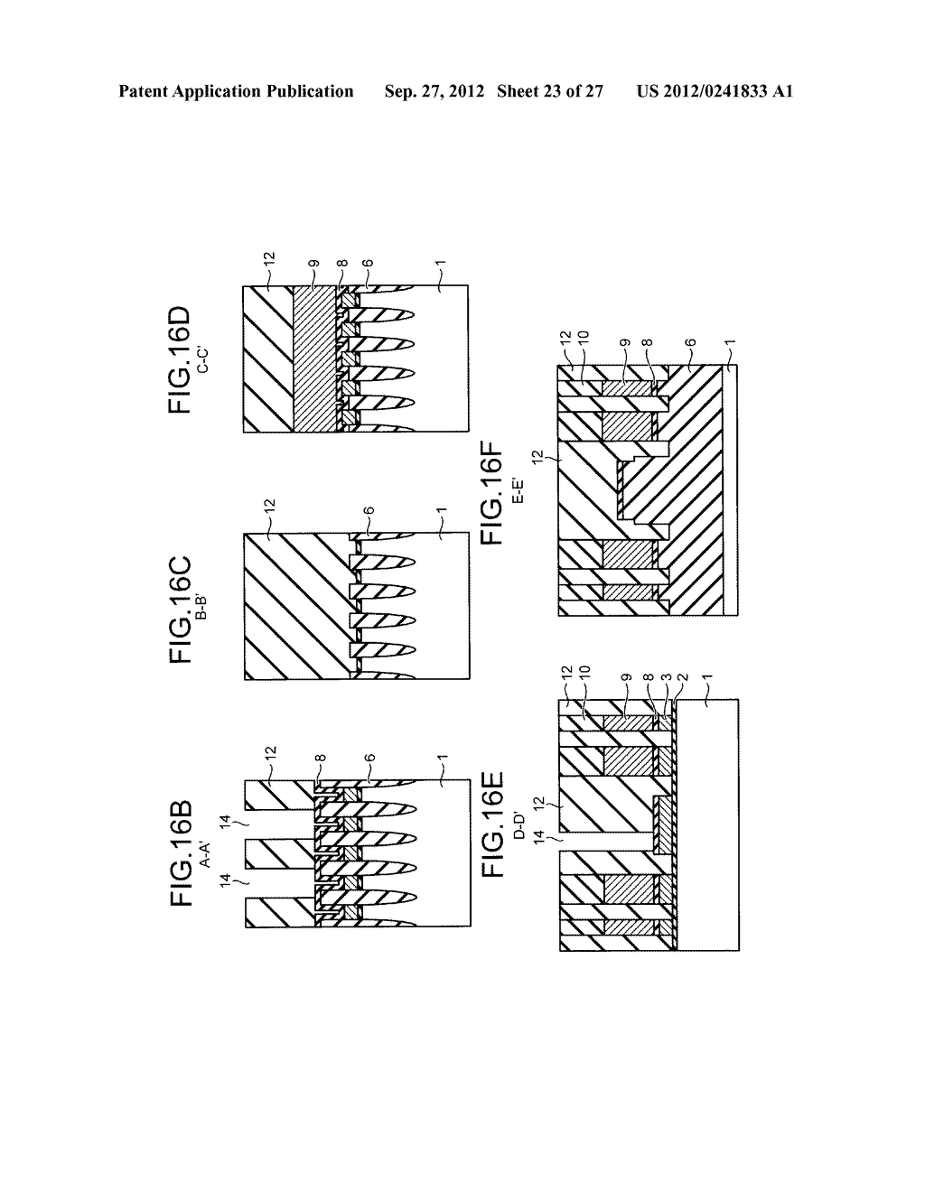 NONVOLATILE SEMICONDUCTOR STORAGE DEVICE AND METHOD FOR MANUFACTURING THE     SAME - diagram, schematic, and image 24