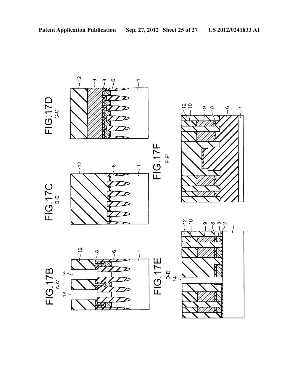 NONVOLATILE SEMICONDUCTOR STORAGE DEVICE AND METHOD FOR MANUFACTURING THE     SAME - diagram, schematic, and image 26