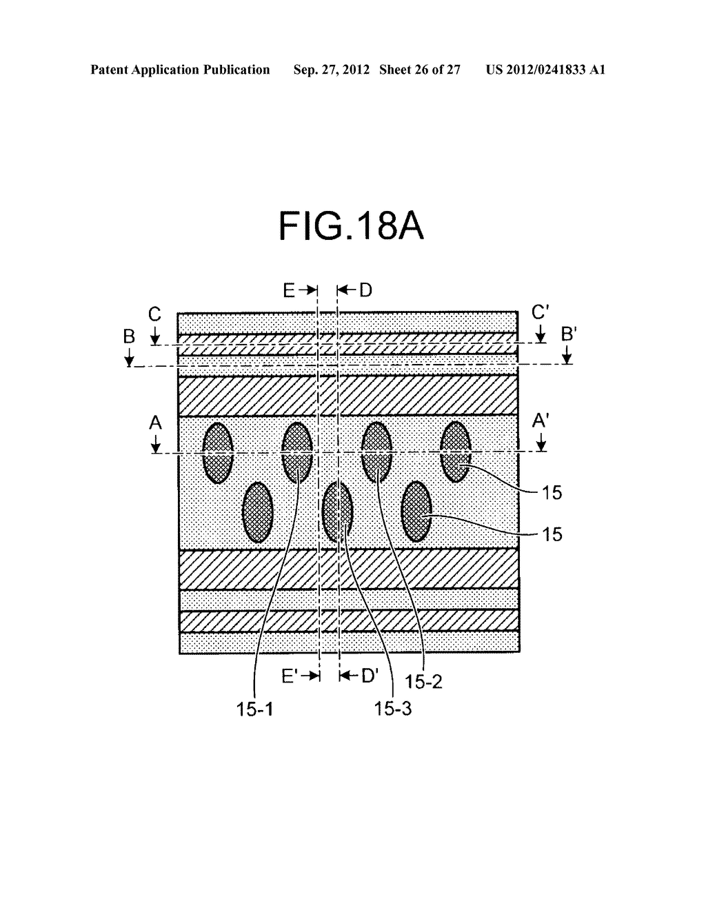 NONVOLATILE SEMICONDUCTOR STORAGE DEVICE AND METHOD FOR MANUFACTURING THE     SAME - diagram, schematic, and image 27